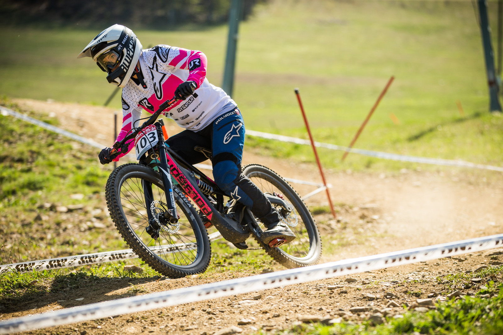 Tracey Hannah, Women's Winner - iXS Downhill Cup Maribor - Race Gallery - Mountain Biking Pictures - Vital MTB