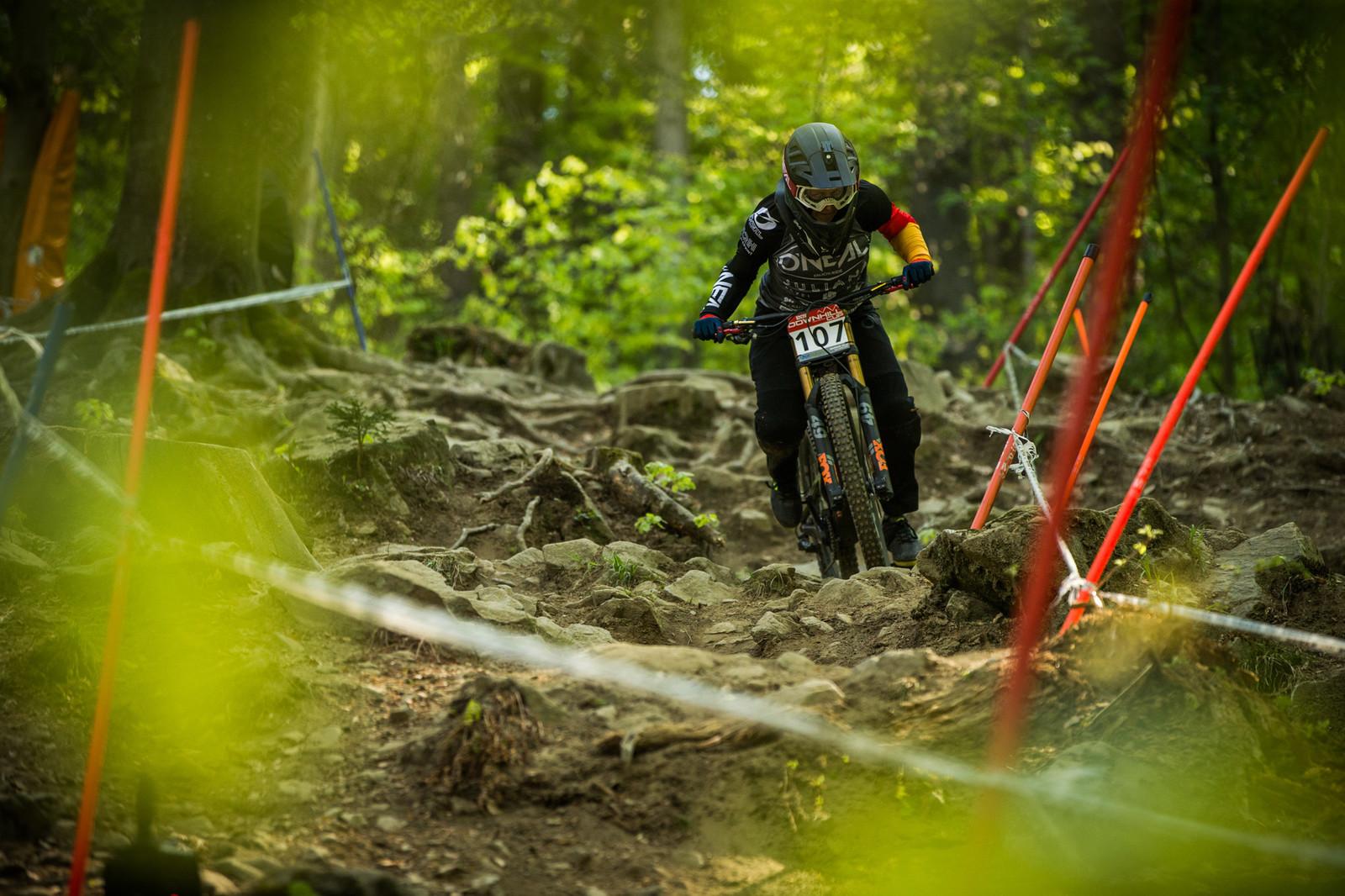 Nina Hoffman, 2nd Place Elite Women - iXS Downhill Cup Maribor - Race Gallery - Mountain Biking Pictures - Vital MTB