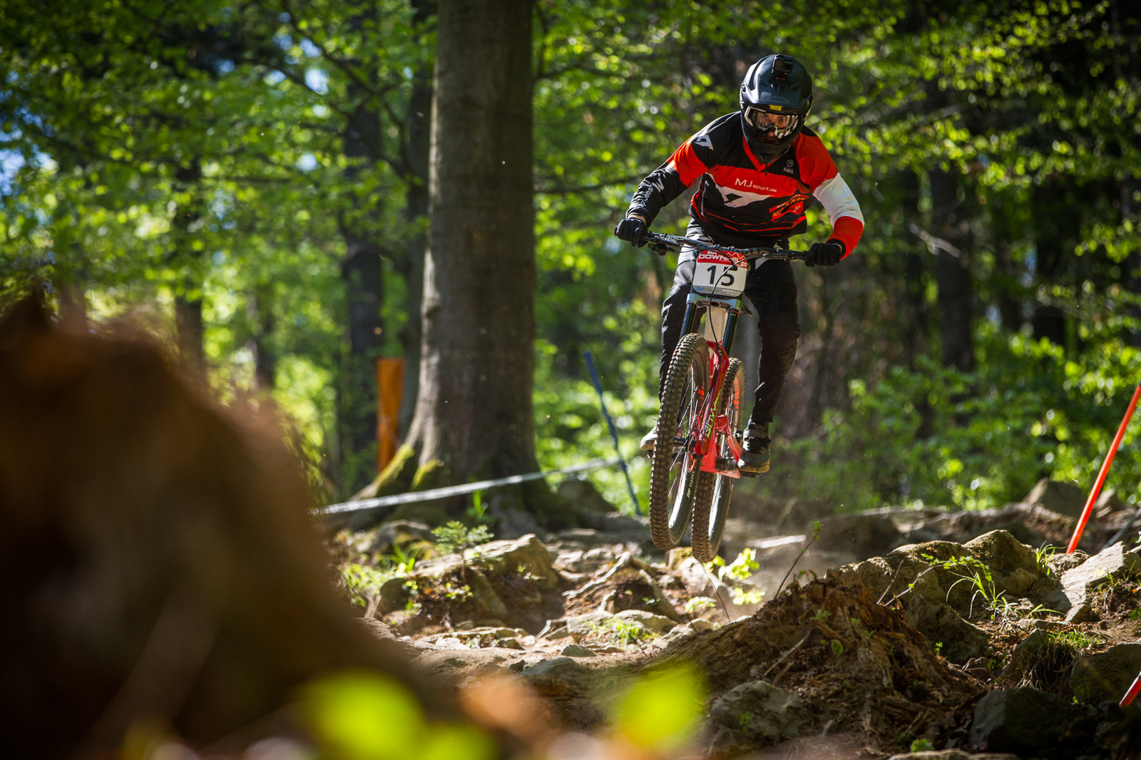 David Trummer, 8th Place - iXS Downhill Cup Maribor - Race Gallery - Mountain Biking Pictures - Vital MTB