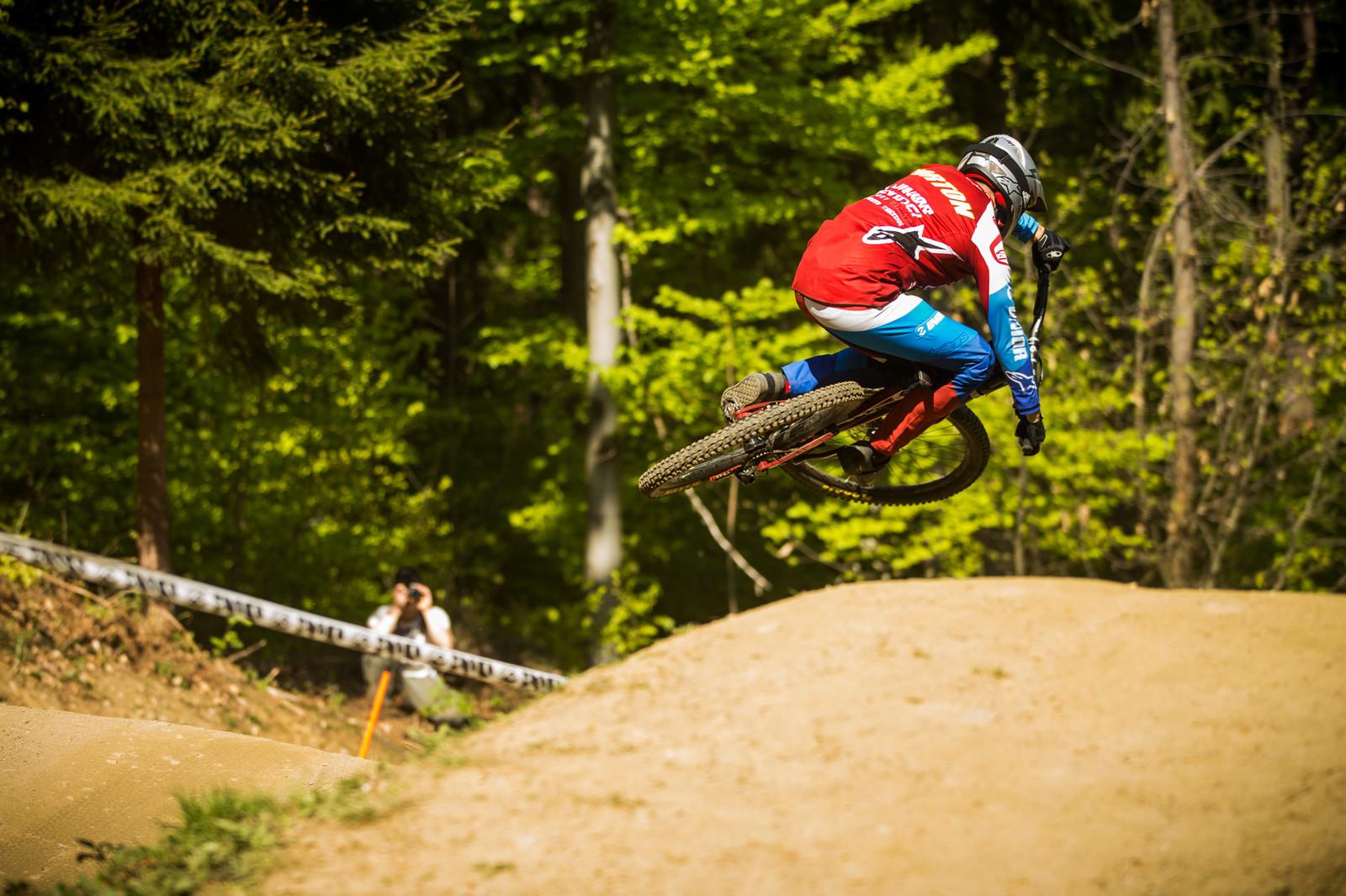 Dakotah Norton, 4th Place - iXS Downhill Cup Maribor - Race Gallery - Mountain Biking Pictures - Vital MTB