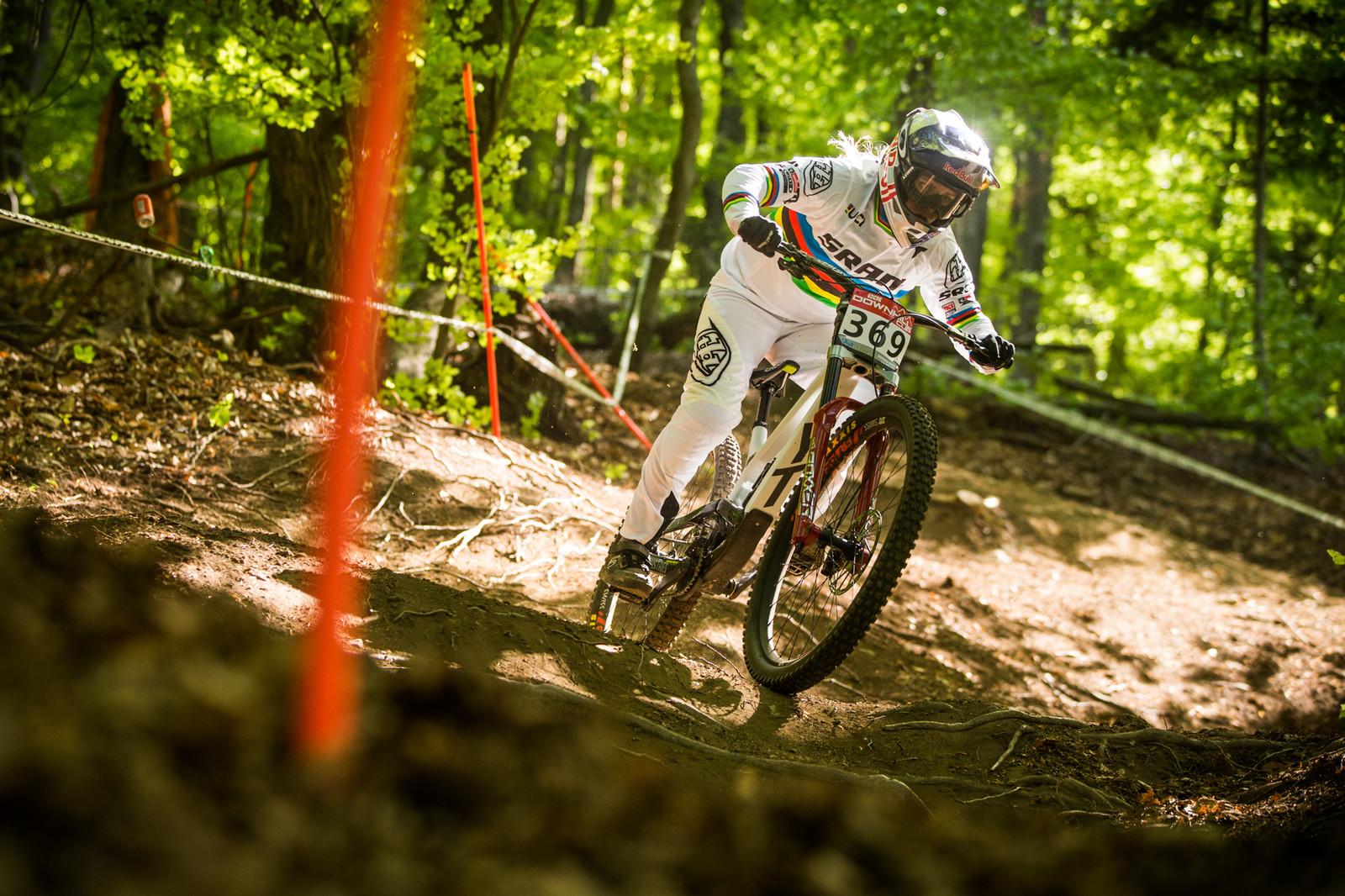 Vali Holl - iXS Downhill Cup Maribor - Race Gallery - Mountain Biking Pictures - Vital MTB