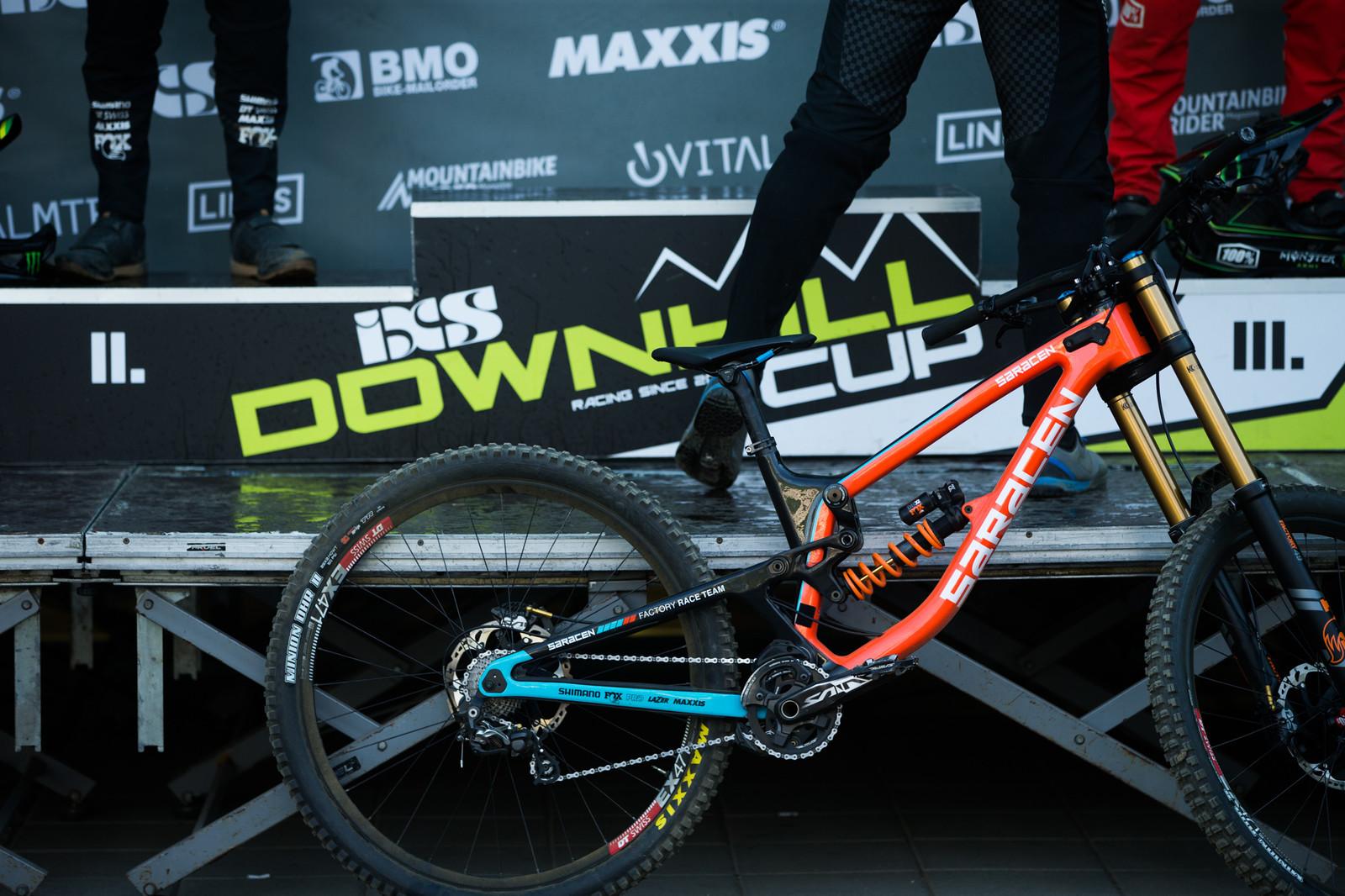 Winning Bike - iXS Downhill Cup Maribor - Race Gallery - Mountain Biking Pictures - Vital MTB