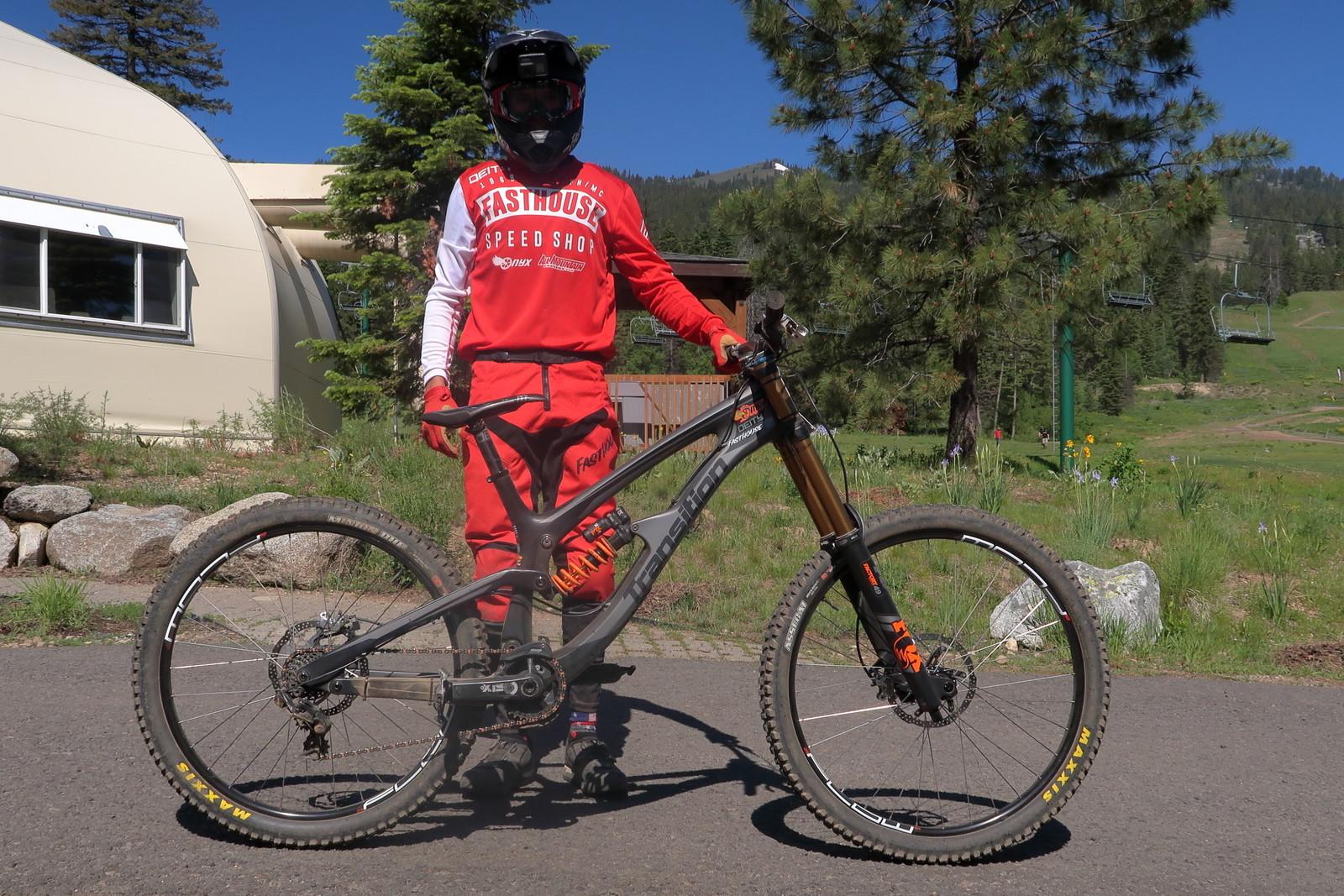 Ryan Wischmeyer's 69er / Mixer Transition TR11 - PIT BITS - Tamarack Pro GRT / NW Cup - Mountain Biking Pictures - Vital MTB