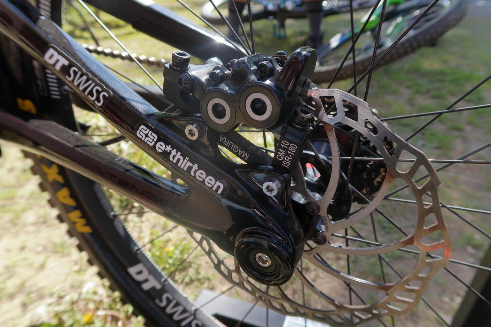 Shaun Palmer's Intense M16 with Magura Brakes - PIT BITS - Tamarack Pro GRT / NW Cup - Mountain Biking Pictures - Vital MTB