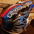 Troy Lee Designs D3 Helmet Blue Colorway