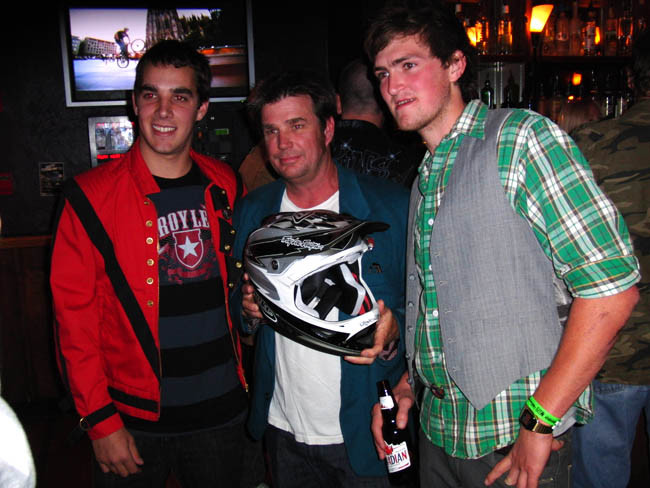 Sam Hill, Troy Lee and Brendan Fairclough - Troy Lee Designs D3 Release Party - Mountain Biking Pictures - Vital MTB