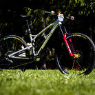 Sam Hill's Updated Prototype Nukeproof Mega 29 with SRAM AXS