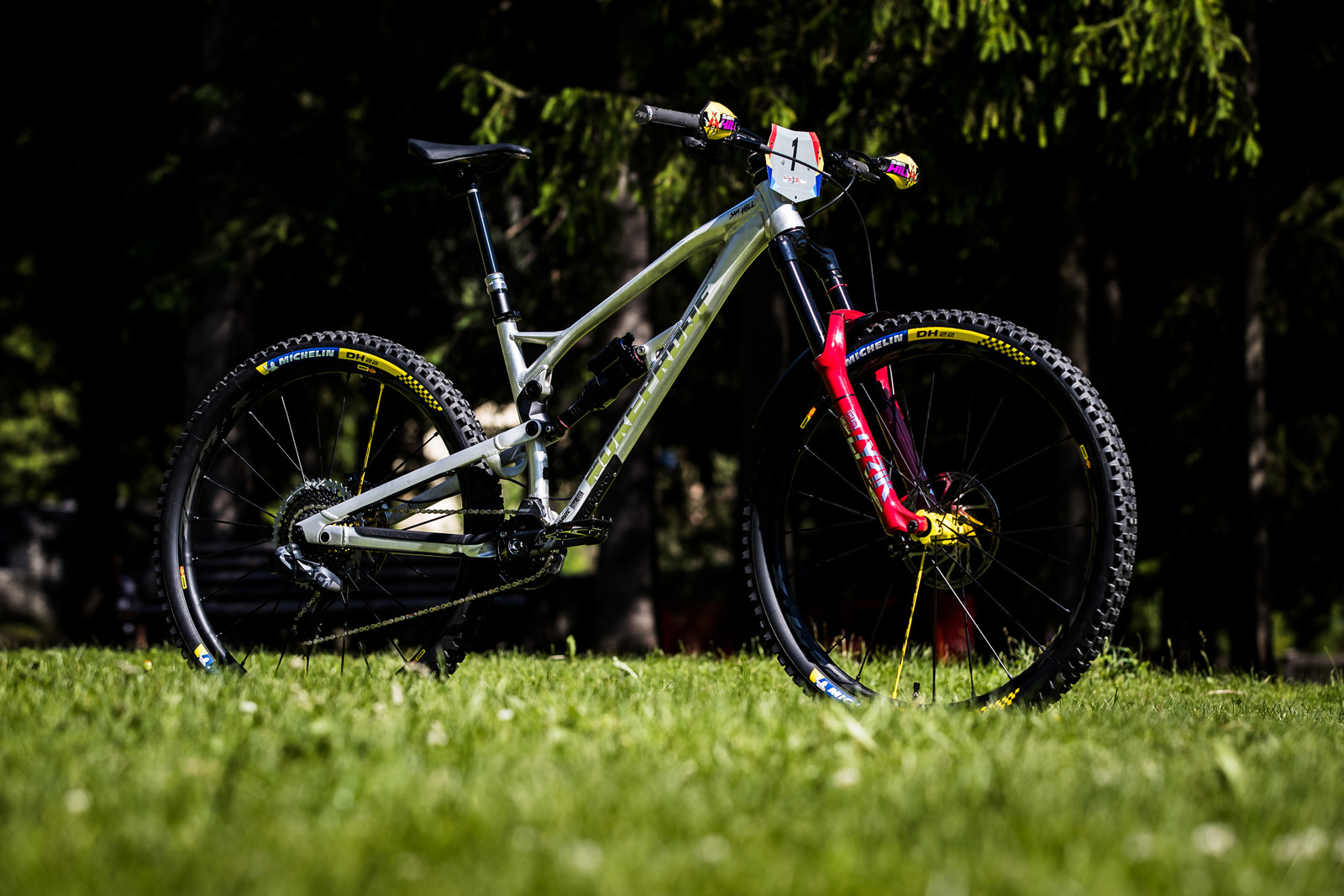 Sam Hill's Updated Prototype Nukeproof Mega 29 with SRAM AXS - Sam Hill's Updated Prototype Nukeproof Mega 29 with SRAM AXS - Mountain Biking Pictures - Vital MTB