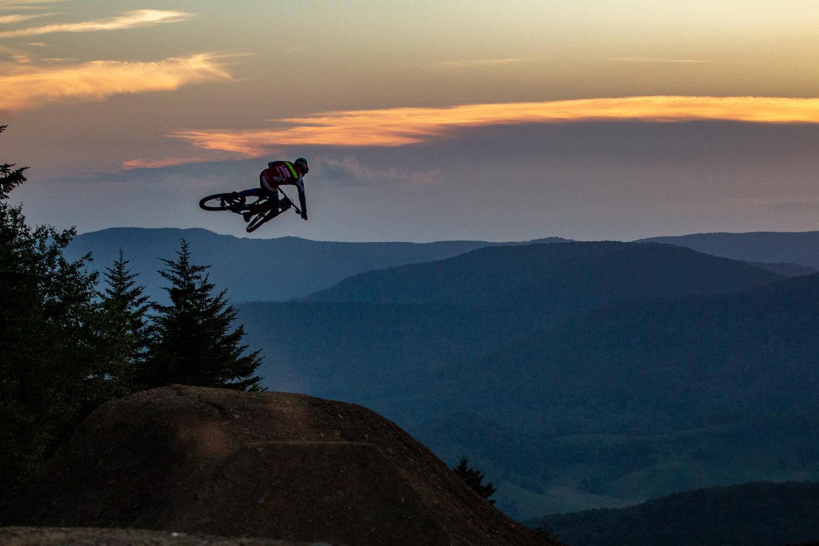Dakotah Norton - Snowshoe Sunset Send Session - Downhill Southeast - Mountain Biking Pictures - Vital MTB