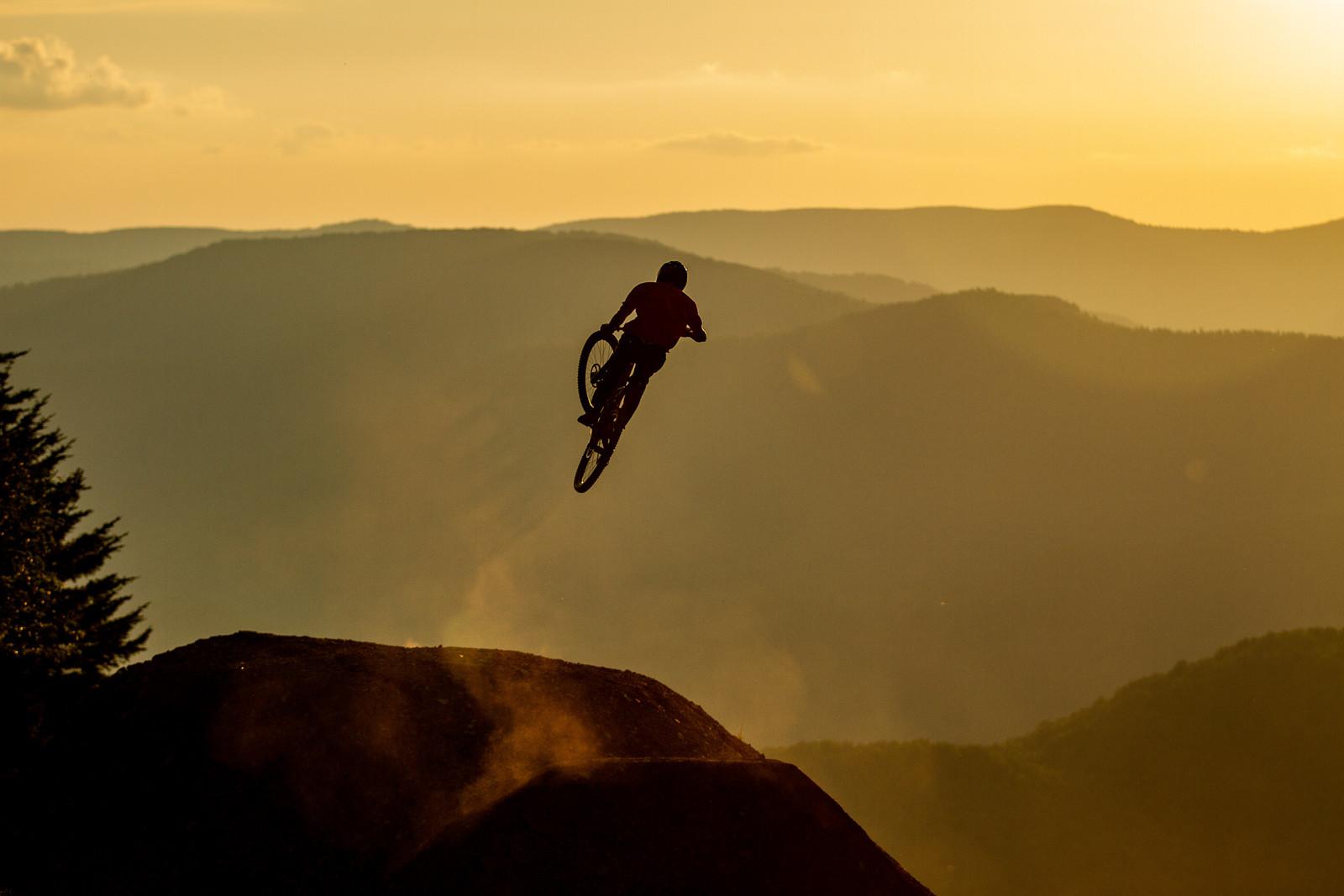 Logan Mulally - Snowshoe Sunset Send Session - Downhill Southeast - Mountain Biking Pictures - Vital MTB