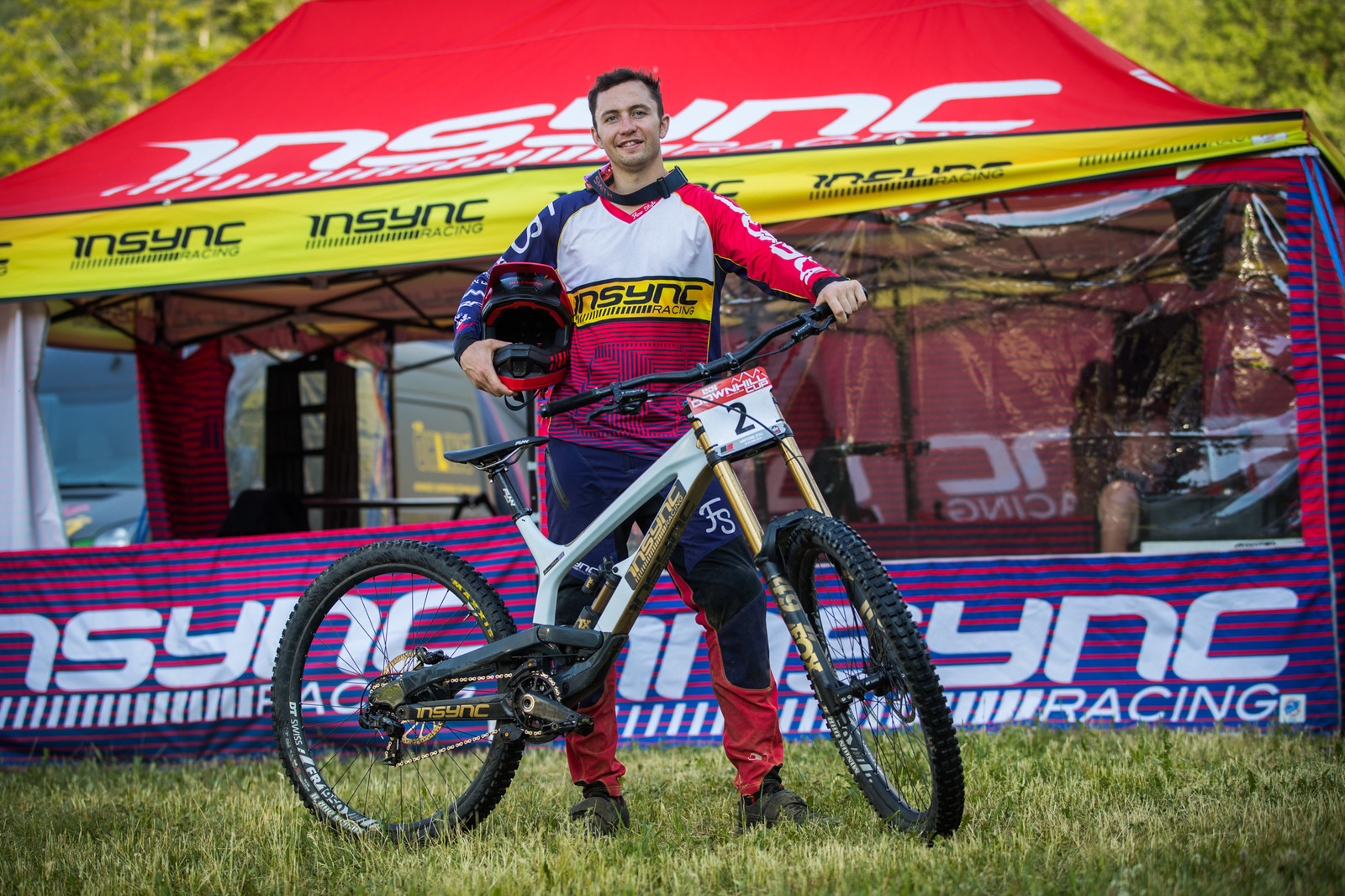 Harry Molloy and his YT Tues 29 - 25 Downhill Bikes - iXS DH Cup #3 - Abetone - Mountain Biking Pictures - Vital MTB