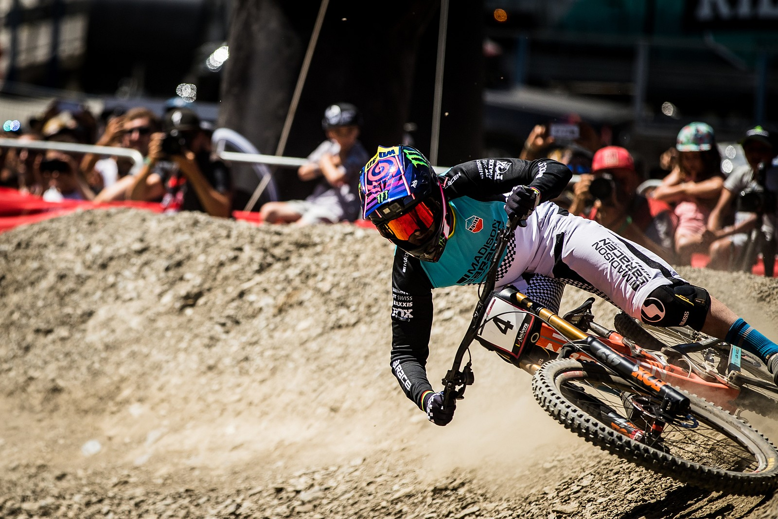 Danny Hart, Andorra World Cup DH Race Run to 5th Place - Danny Hart 2019 World Cup Downhill Photos - Mountain Biking Pictures - Vital MTB