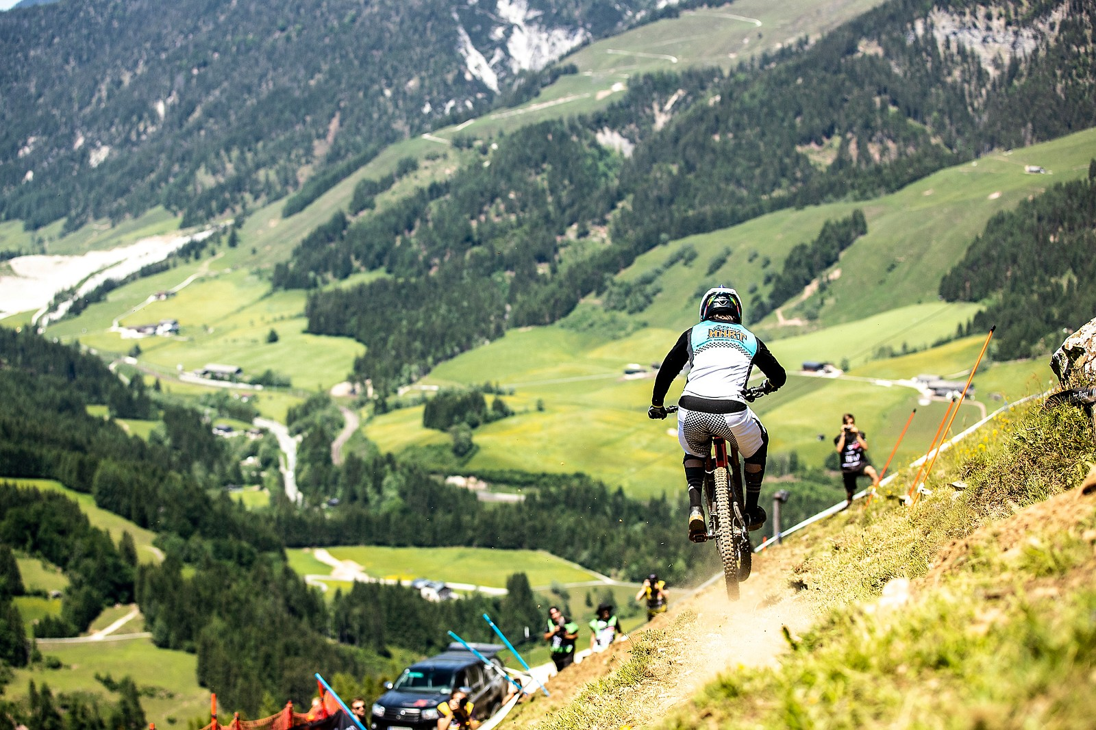 Off-Camber Leogang - Danny Hart 2019 World Cup Downhill Photos - Mountain Biking Pictures - Vital MTB