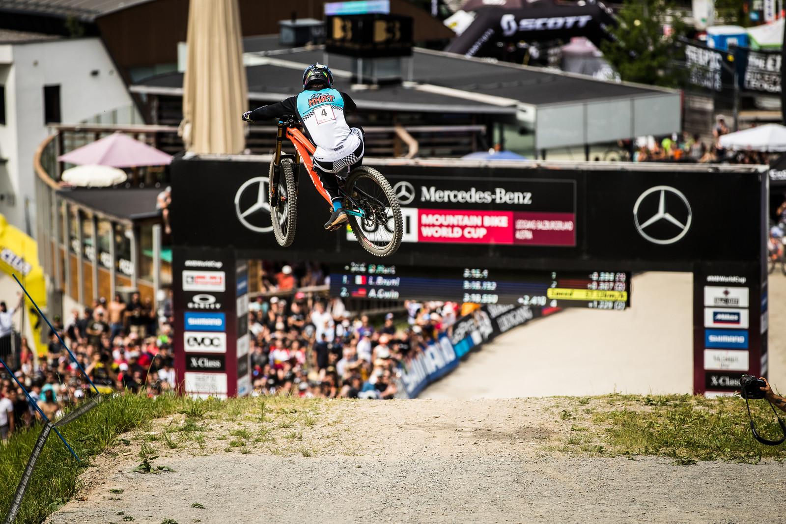 Leogang Leap, Danny Hart - Danny Hart 2019 World Cup Downhill Photos - Mountain Biking Pictures - Vital MTB