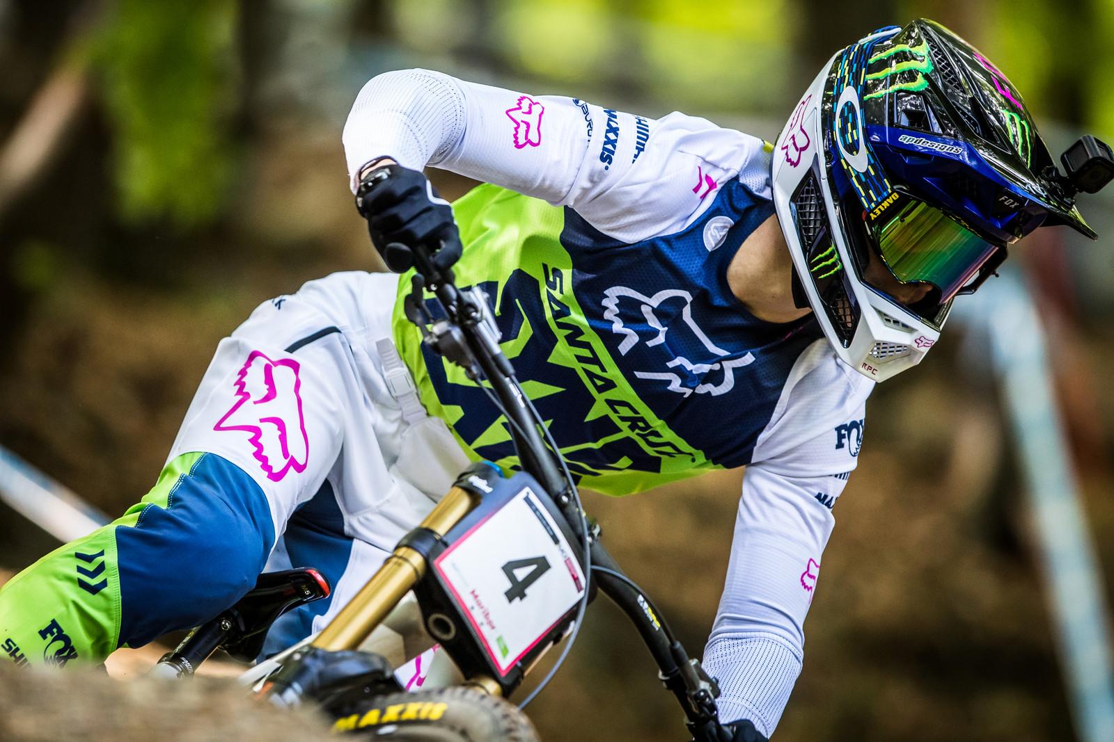 Poppin' Fresh Loris in Maribor - Loris Vergier 2019 World Cup Downhill Photos - Mountain Biking Pictures - Vital MTB