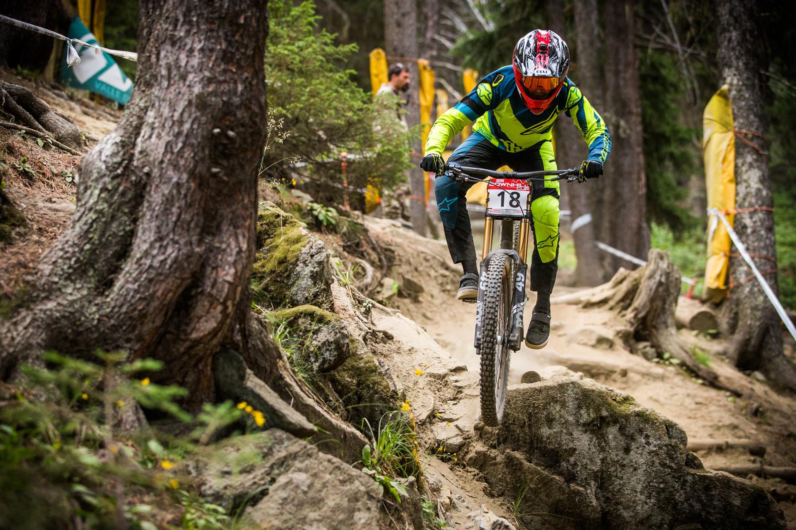 Christopher Philogene - iXS Downhill Cup Pila - Race Gallery - Mountain Biking Pictures - Vital MTB