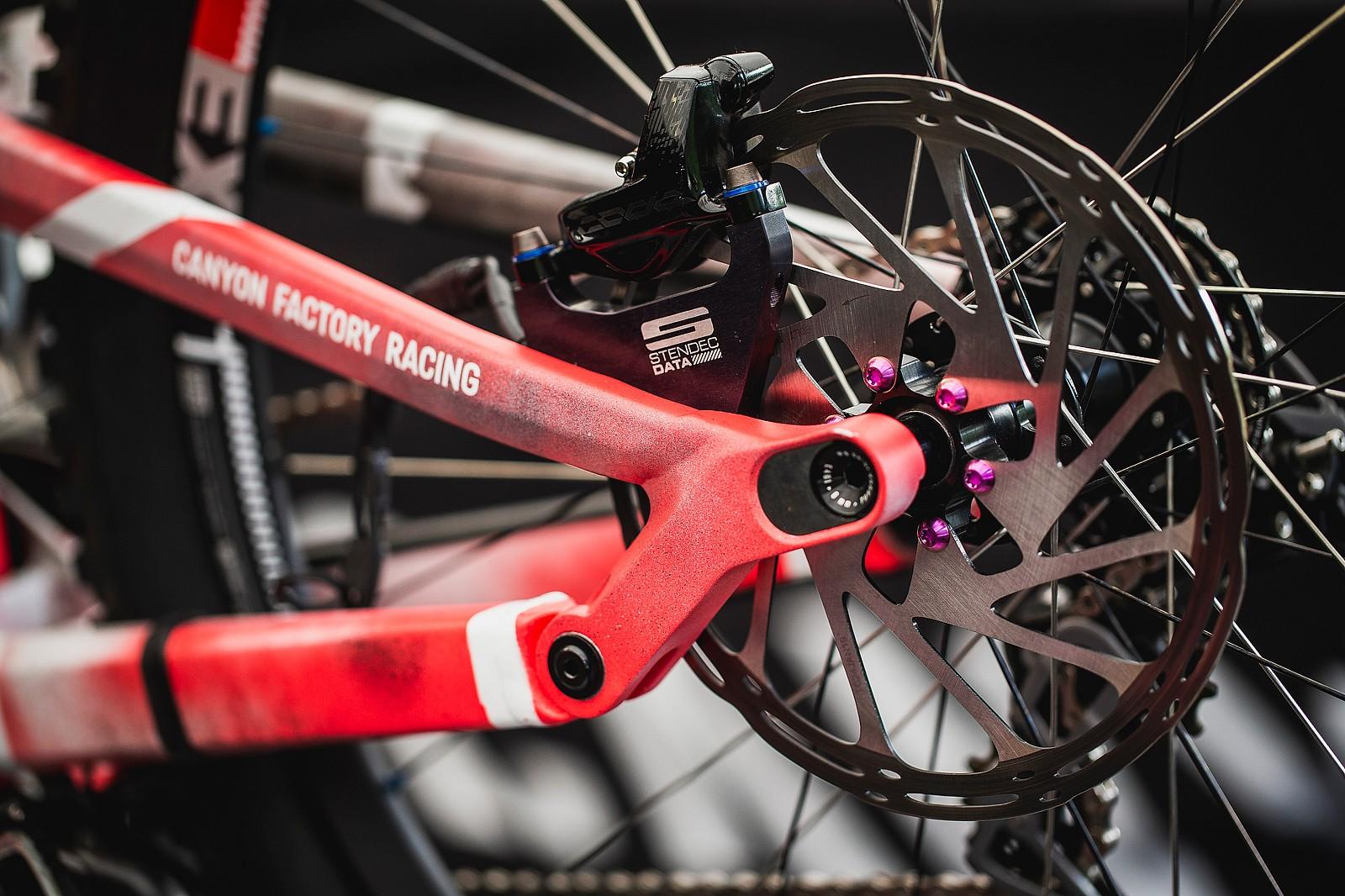 Stendec Data Goods - PIT BITS - 2019 Val di Sole World Cup Downhill Bike Tech - Mountain Biking Pictures - Vital MTB