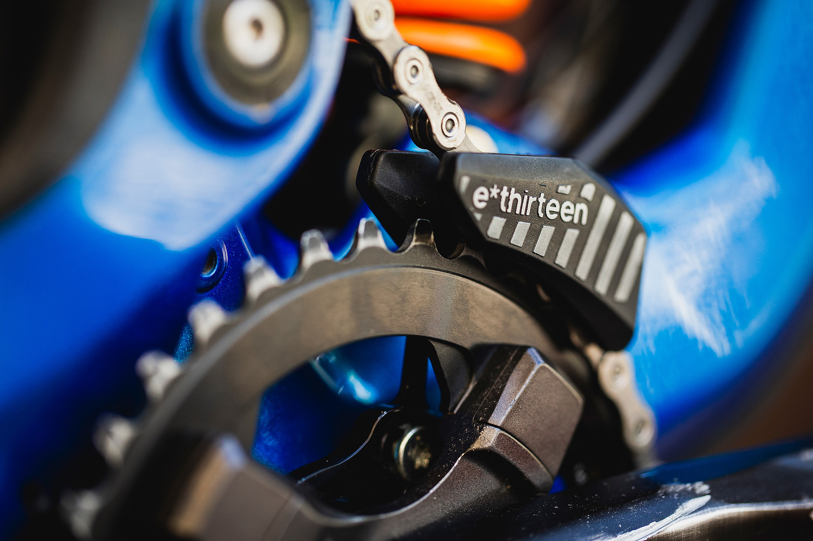 e*thirteen LG1 chainguide with the high pivot - Pro Bike Check - George Brannigan's GT Fury - Mountain Biking Pictures - Vital MTB
