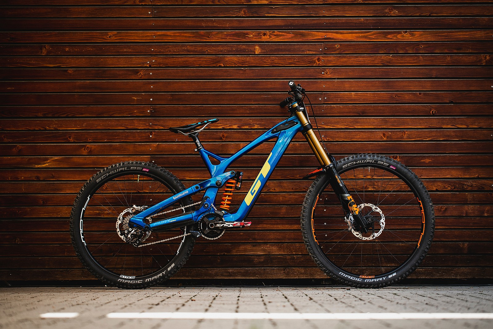 Pro Bike Check - George Brannigan's GT Fury - Pro Bike Check - George Brannigan's GT Fury - Mountain Biking Pictures - Vital MTB