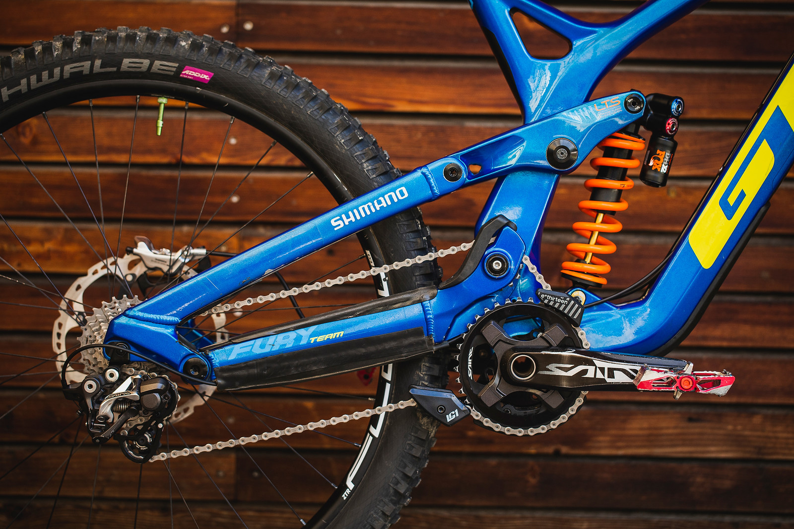 That High Pivot! - Pro Bike Check - George Brannigan's GT Fury - Mountain Biking Pictures - Vital MTB