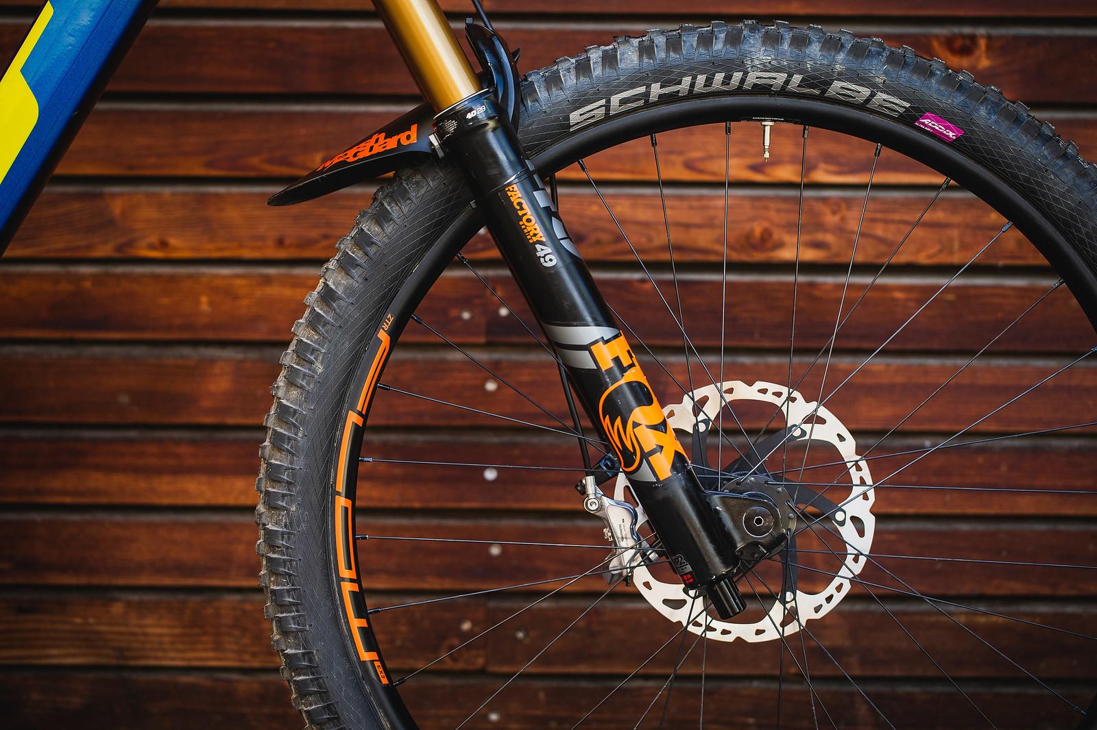 FOX 49, Stan's Flow Wheels - Pro Bike Check - George Brannigan's GT Fury - Mountain Biking Pictures - Vital MTB