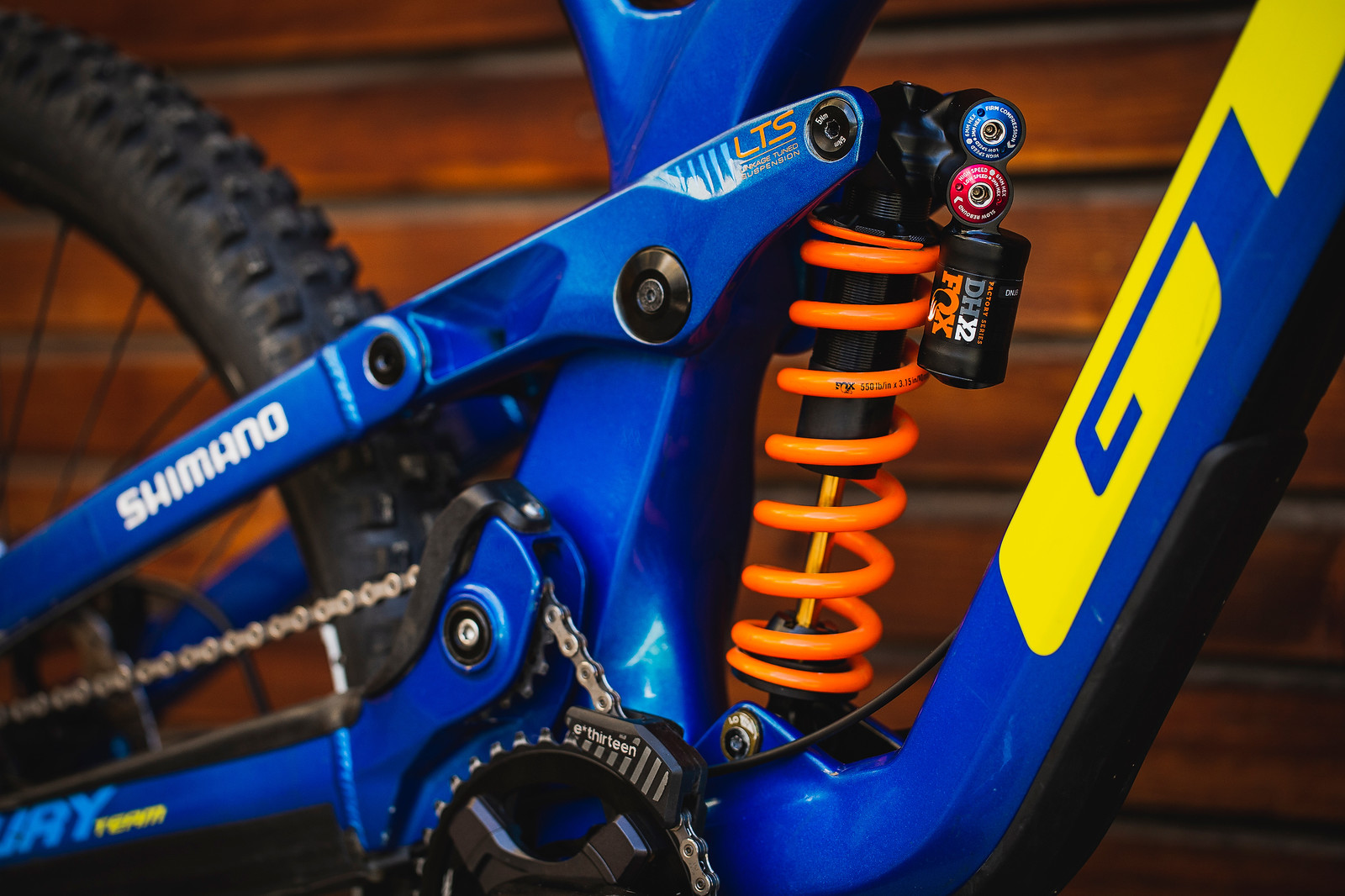 FOX DHX2 with 550-pound spring - Pro Bike Check - George Brannigan's GT Fury - Mountain Biking Pictures - Vital MTB
