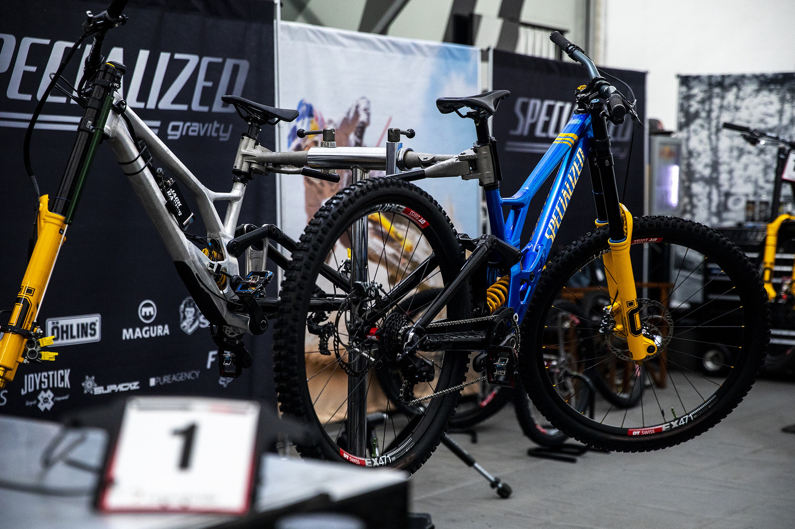 New Colors for Loic Bruni - PIT BITS - 2019 Lenzerheide World Cup Downhill - Mountain Biking Pictures - Vital MTB
