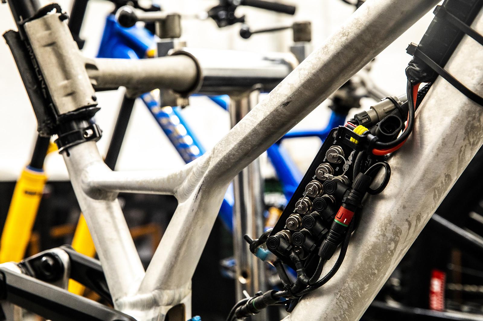 Loic Bruni's Data Bike - PIT BITS - 2019 Lenzerheide World Cup Downhill - Mountain Biking Pictures - Vital MTB