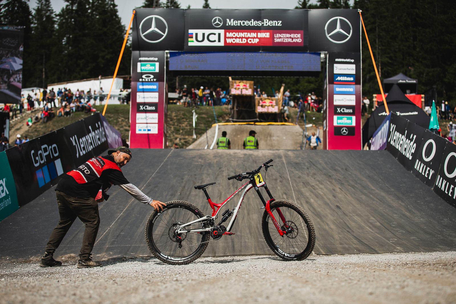 Making It Happen - WINNING BIKE - Amaury Pierron's Commencal Supreme DH - Mountain Biking Pictures - Vital MTB