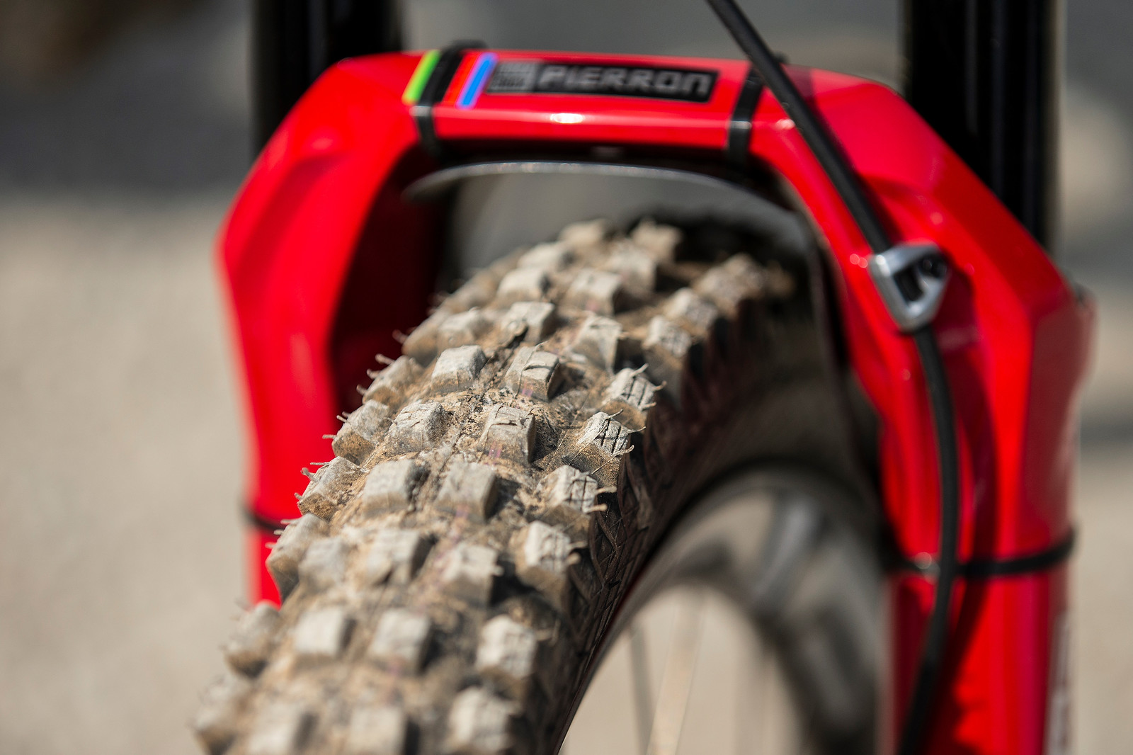 Schwalbe Magic Mary Front and Rear - WINNING BIKE - Amaury Pierron's Commencal Supreme DH - Mountain Biking Pictures - Vital MTB