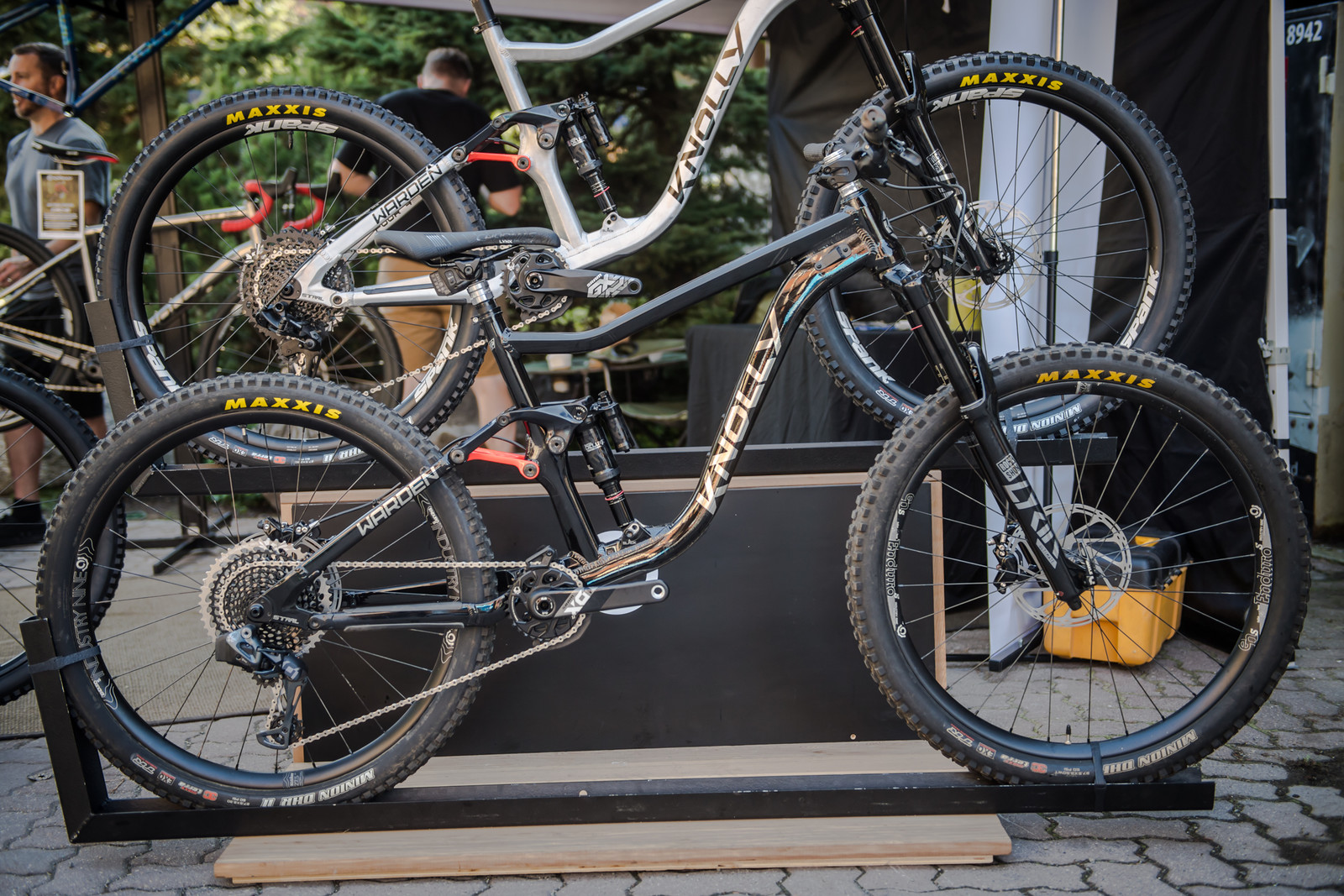 All-New 2020 Knolly Warden LT - PIT BITS - 2019 Crankworx Whistler Bikes and Tech - Mountain Biking Pictures - Vital MTB