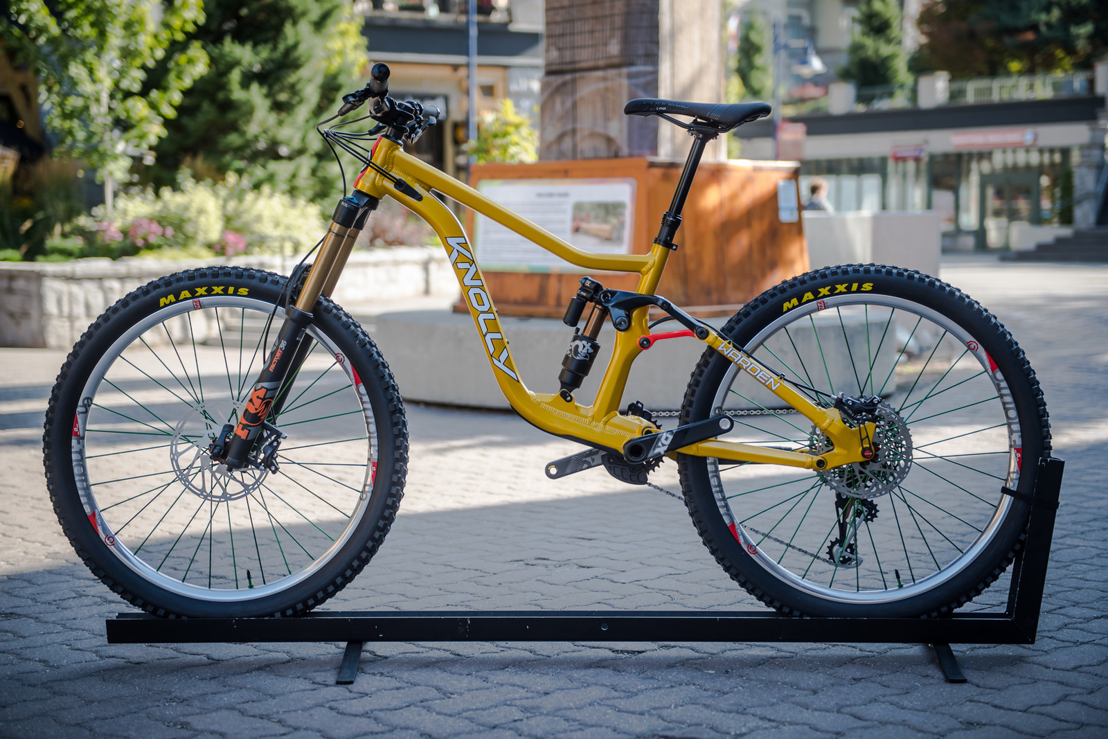 All-New 2020 Knolly Warden - PIT BITS - 2019 Crankworx Whistler Bikes and Tech - Mountain Biking Pictures - Vital MTB