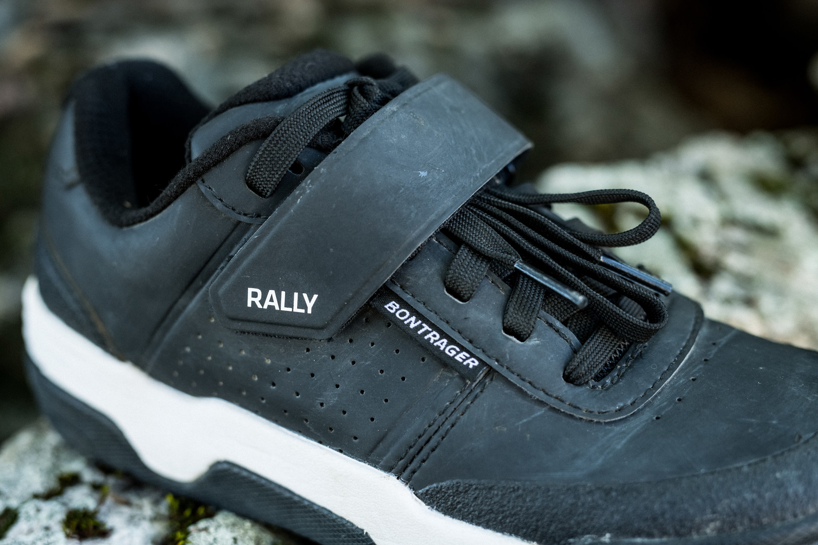 Bontrager Rally Clipless Shoe - PIT BITS - 2019 Crankworx Whistler Bikes and Tech - Mountain Biking Pictures - Vital MTB