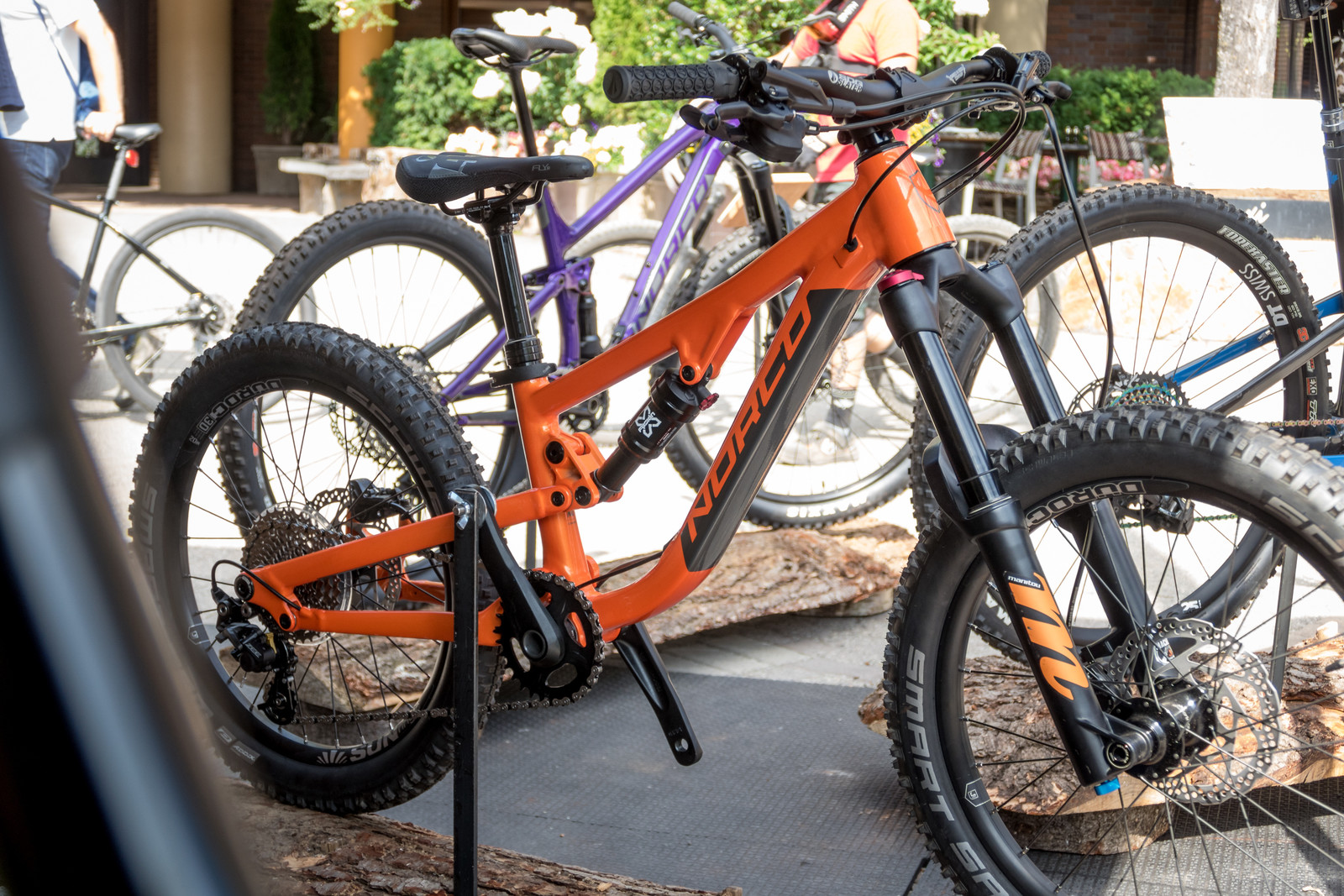 2020 Norco's Fluid FS Kids Bikes - PIT BITS - 2019 Crankworx Whistler Bikes and Tech - Mountain Biking Pictures - Vital MTB