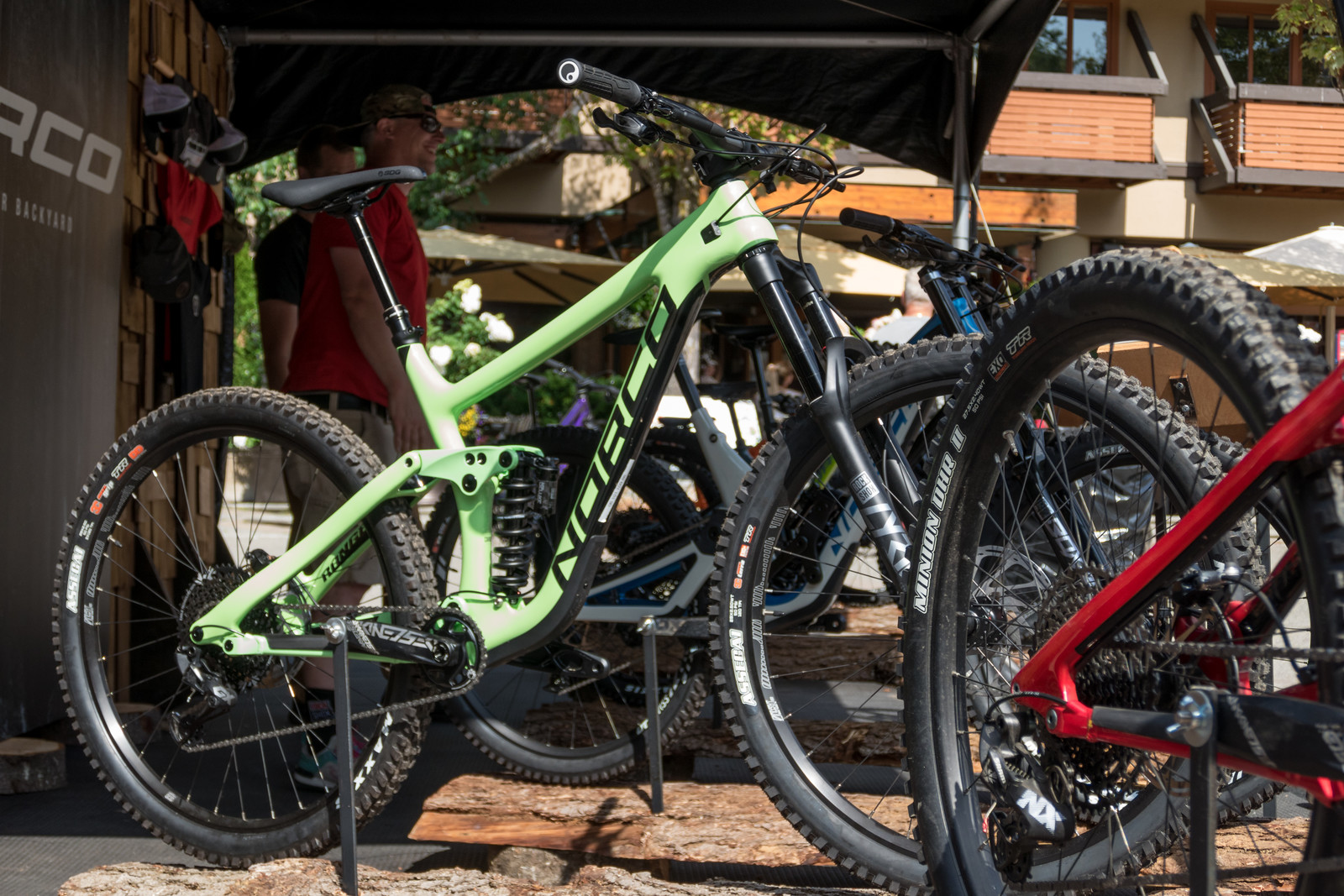 2020 Norco Range Carbon and Aurum Carbon HSP - PIT BITS - 2019 Crankworx Whistler Bikes and Tech - Mountain Biking Pictures - Vital MTB
