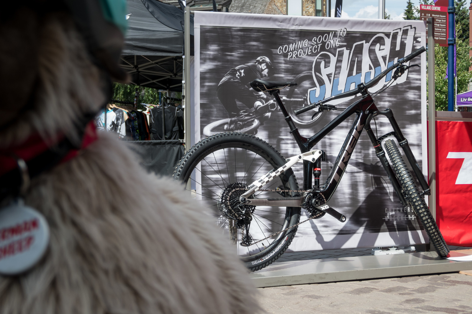 Trek Slash Coming Soon to Project One - PIT BITS - 2019 Crankworx Whistler Bikes and Tech - Mountain Biking Pictures - Vital MTB
