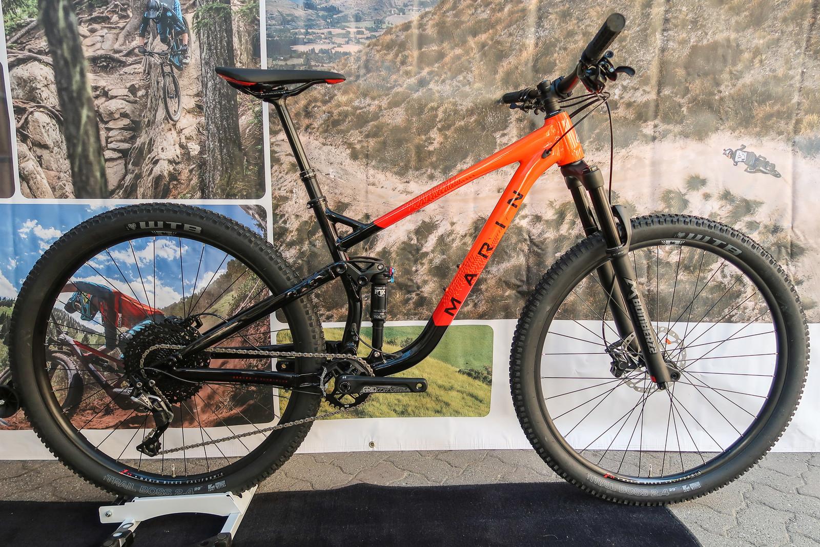 2020 Marin Rift Zone 3 Trail Bike - PIT BITS - 2019 Crankworx Whistler Bikes and Tech - Mountain Biking Pictures - Vital MTB