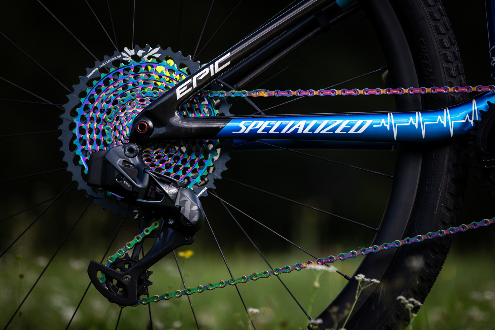 Chris Blevins' Specialized Epic for 2019 World Champs Cross Country - 2019 World Championships Cross Country Race Bikes from Specialized - Mountain Biking Pictures - Vital MTB