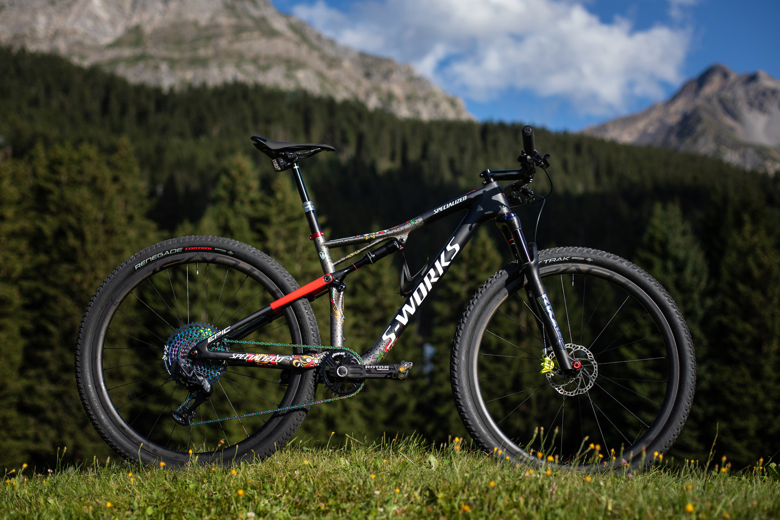 2019 World Championships XC Race Bikes - Simon Andreassen's Specialized Epic - 2019 World Championships Cross Country Race Bikes from Specialized - Mountain Biking Pictures - Vital MTB