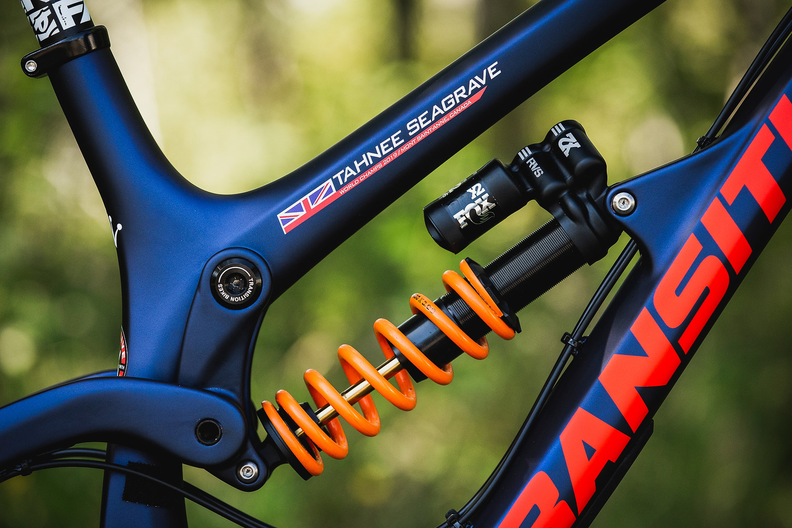 FOX DHX2 Shock - Tahnee Seagrave's World Championships Transition TR11 - Mountain Biking Pictures - Vital MTB