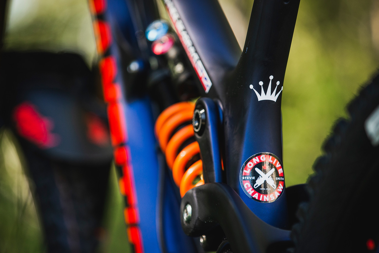 Long Live Chainsaw - Tahnee Seagrave's World Championships Transition TR11 - Mountain Biking Pictures - Vital MTB