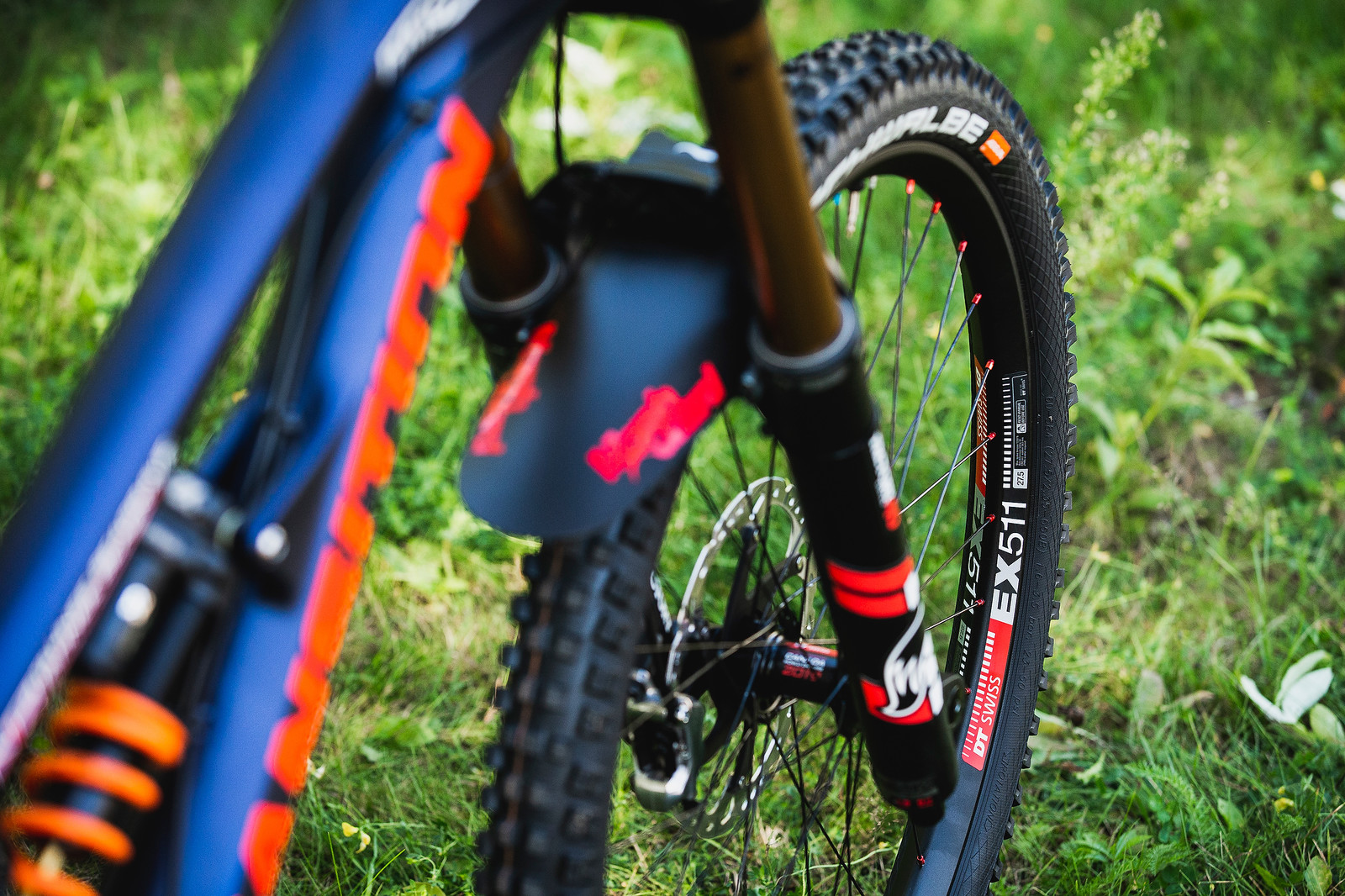 DT Swiss Wheels - Tahnee Seagrave's World Championships Transition TR11 - Mountain Biking Pictures - Vital MTB
