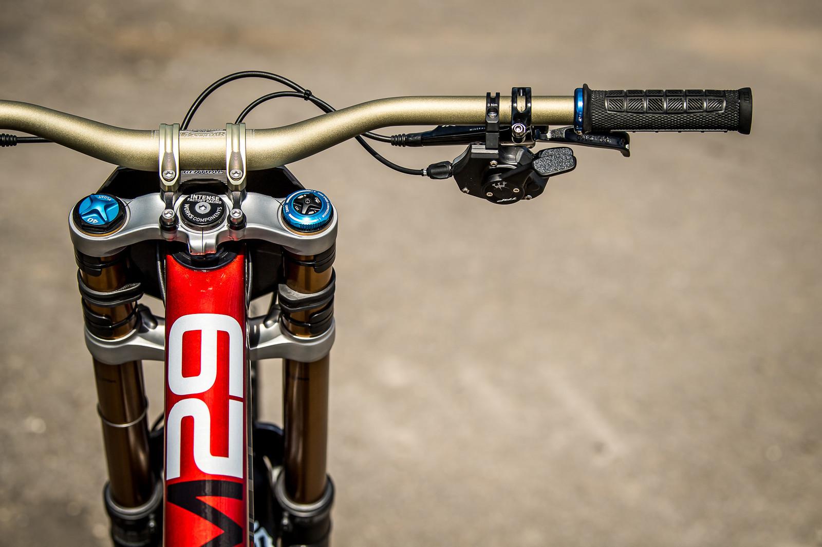 Neko Mulally's 2019 World Championships Intense M29 - Win Neko Mulally's World Champs Intense M29 - Mountain Biking Pictures - Vital MTB
