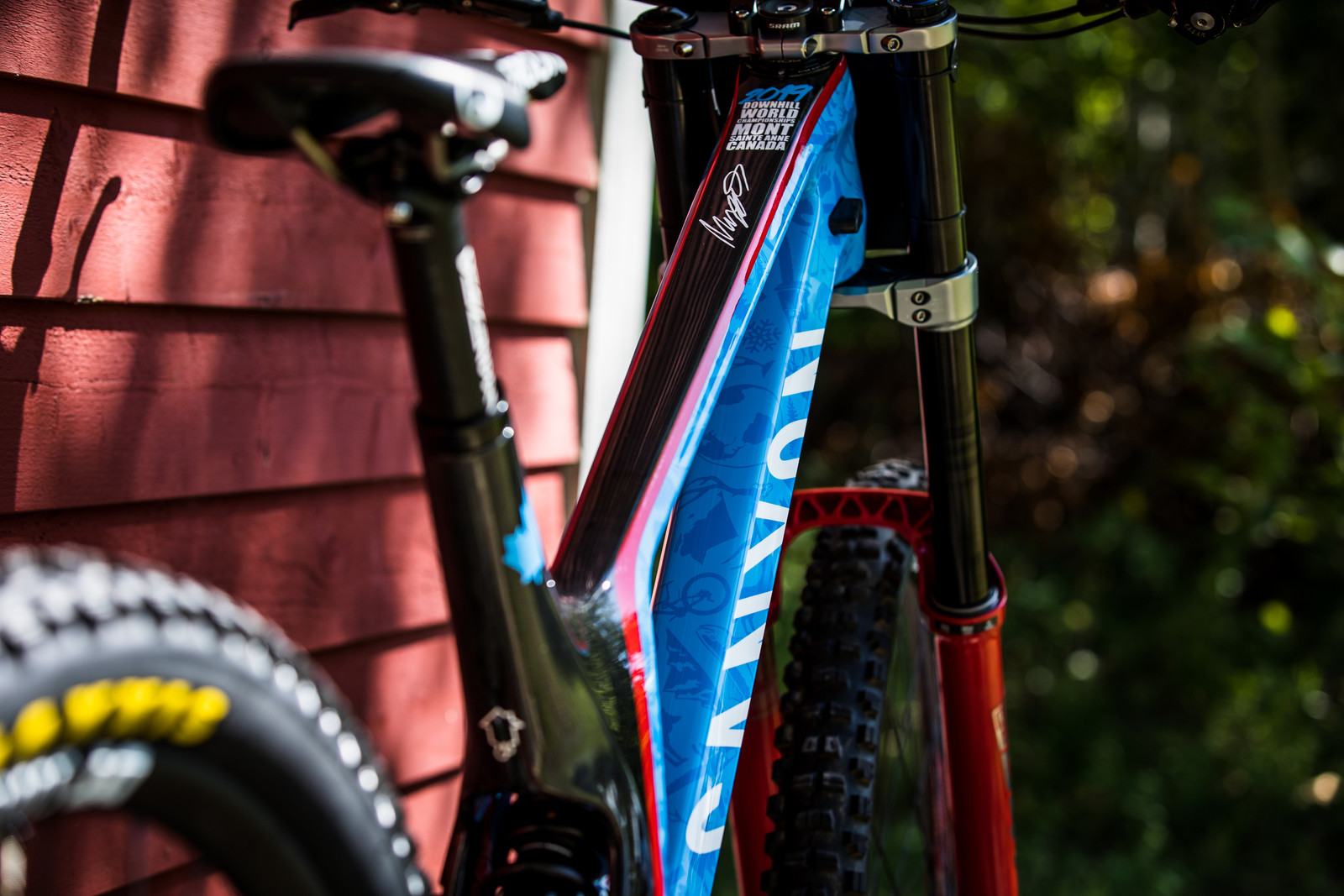 Magnus Manson's World Champs Canyon Sender - Magnus Manson's World Champs Canyon Sender - Mountain Biking Pictures - Vital MTB
