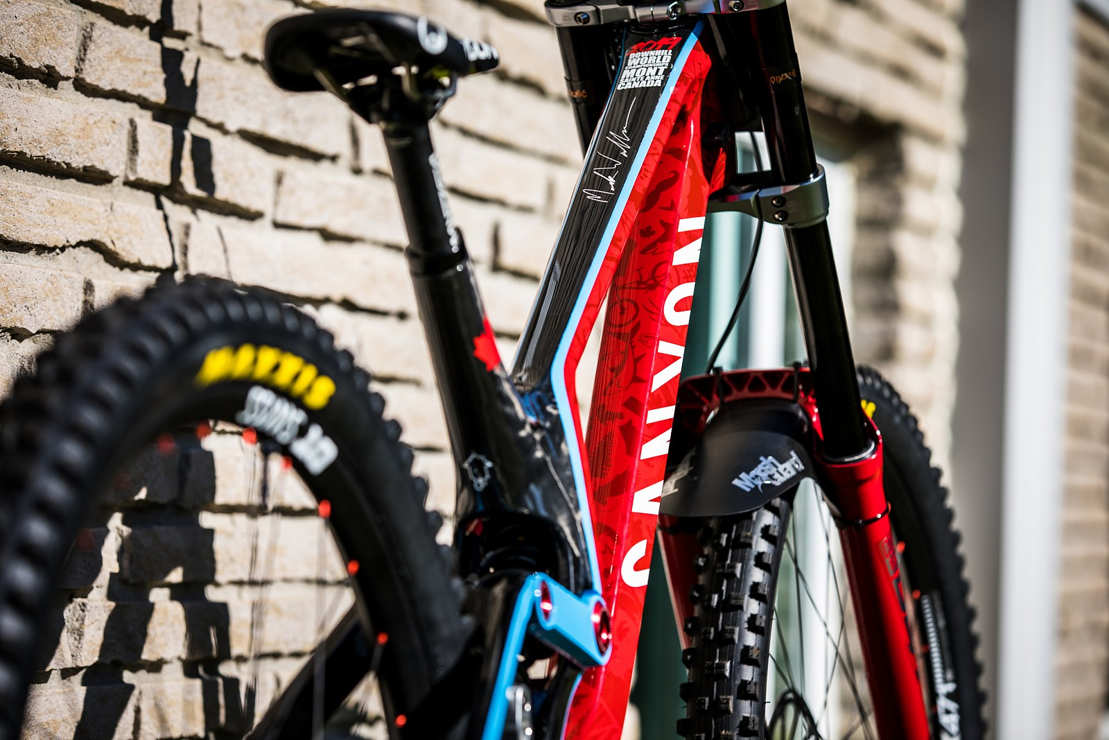 Mark Wallace's Canyon Sender for World Championships - Mark Wallace's Canyon Sender for World Championships - Mountain Biking Pictures - Vital MTB