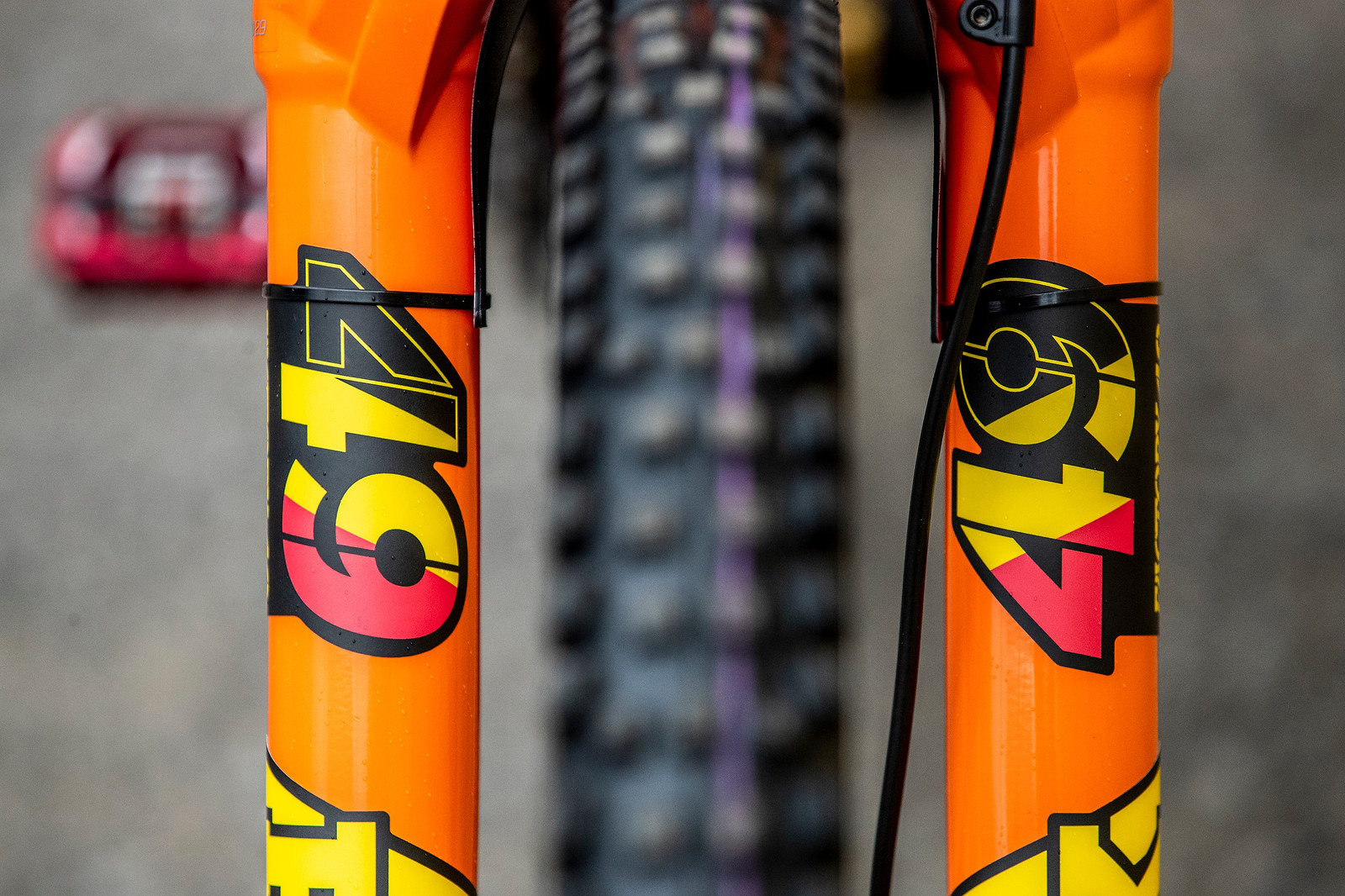 Fresh Fork - GT Bicycles World Championships DH Race Bikes - Mountain Biking Pictures - Vital MTB