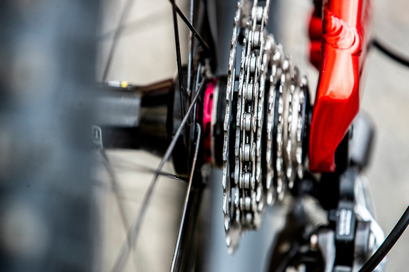 Shimano Cassette - GT Bicycles World Championships DH Race Bikes - Mountain Biking Pictures - Vital MTB