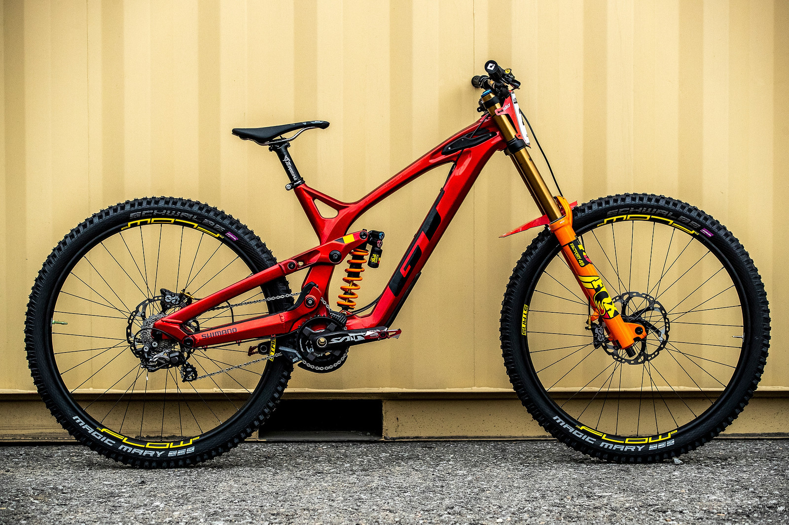 Martin Maes' GT Fury For World Championships - GT Bicycles World Championships DH Race Bikes - Mountain Biking Pictures - Vital MTB