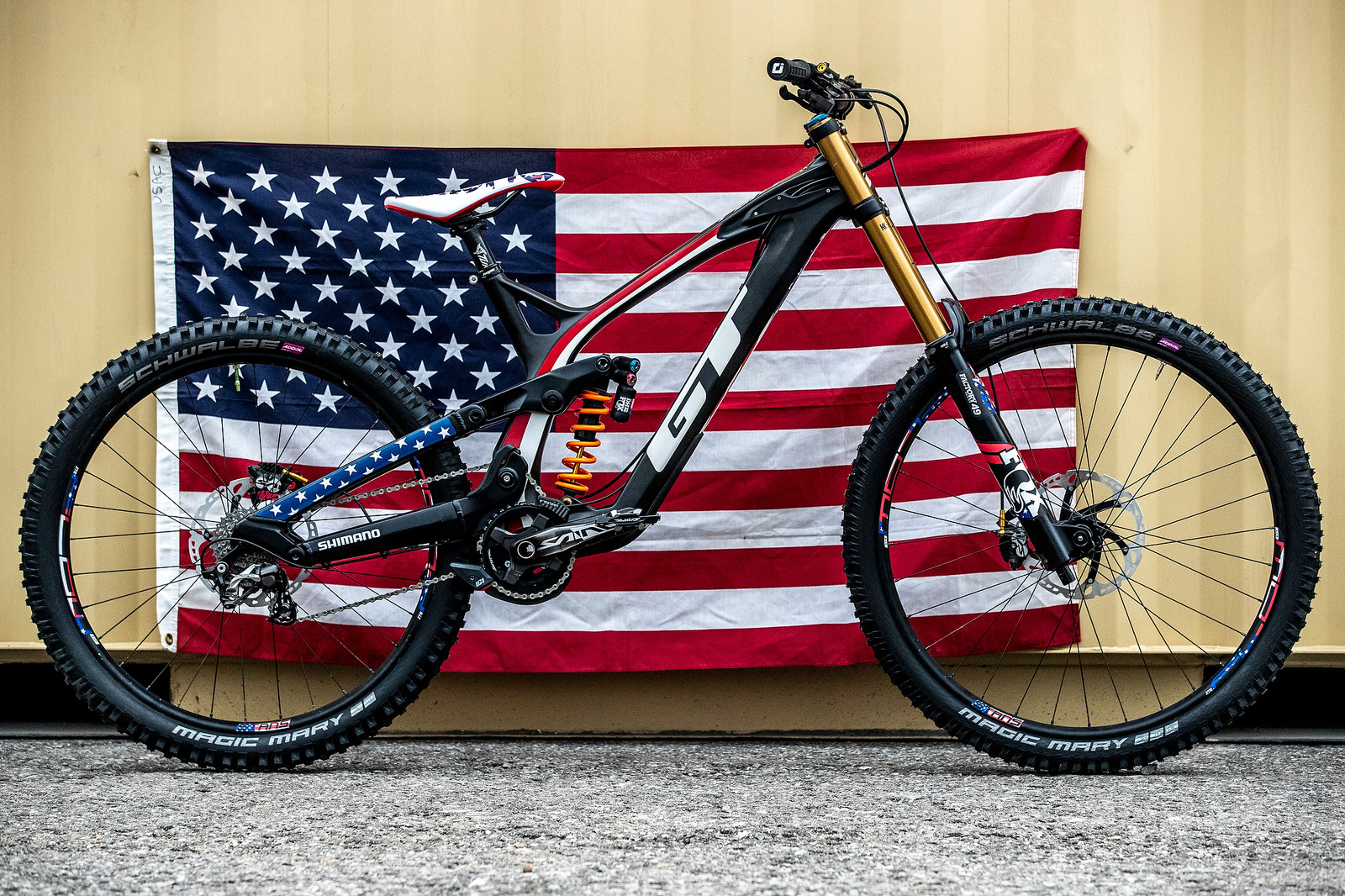 #USDH Joey Foresta's GT Fury For World Championships - GT Bicycles World Championships DH Race Bikes - Mountain Biking Pictures - Vital MTB