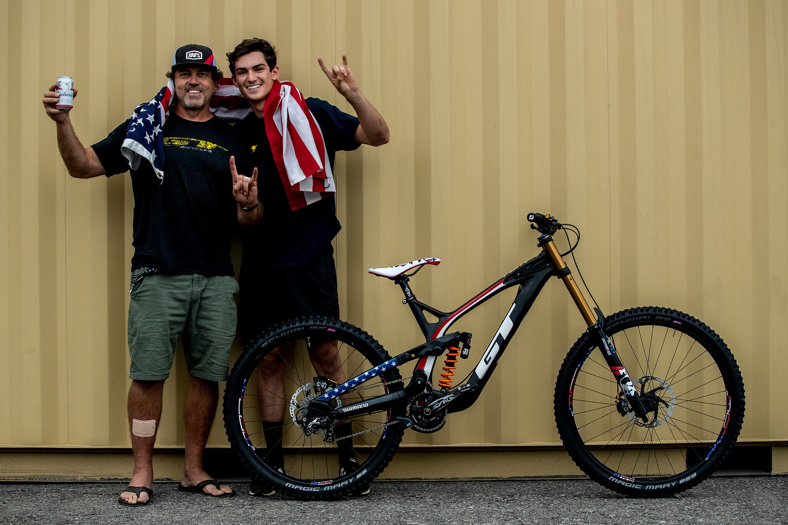 YEAH JOEY! #USDH - GT Bicycles World Championships DH Race Bikes - Mountain Biking Pictures - Vital MTB